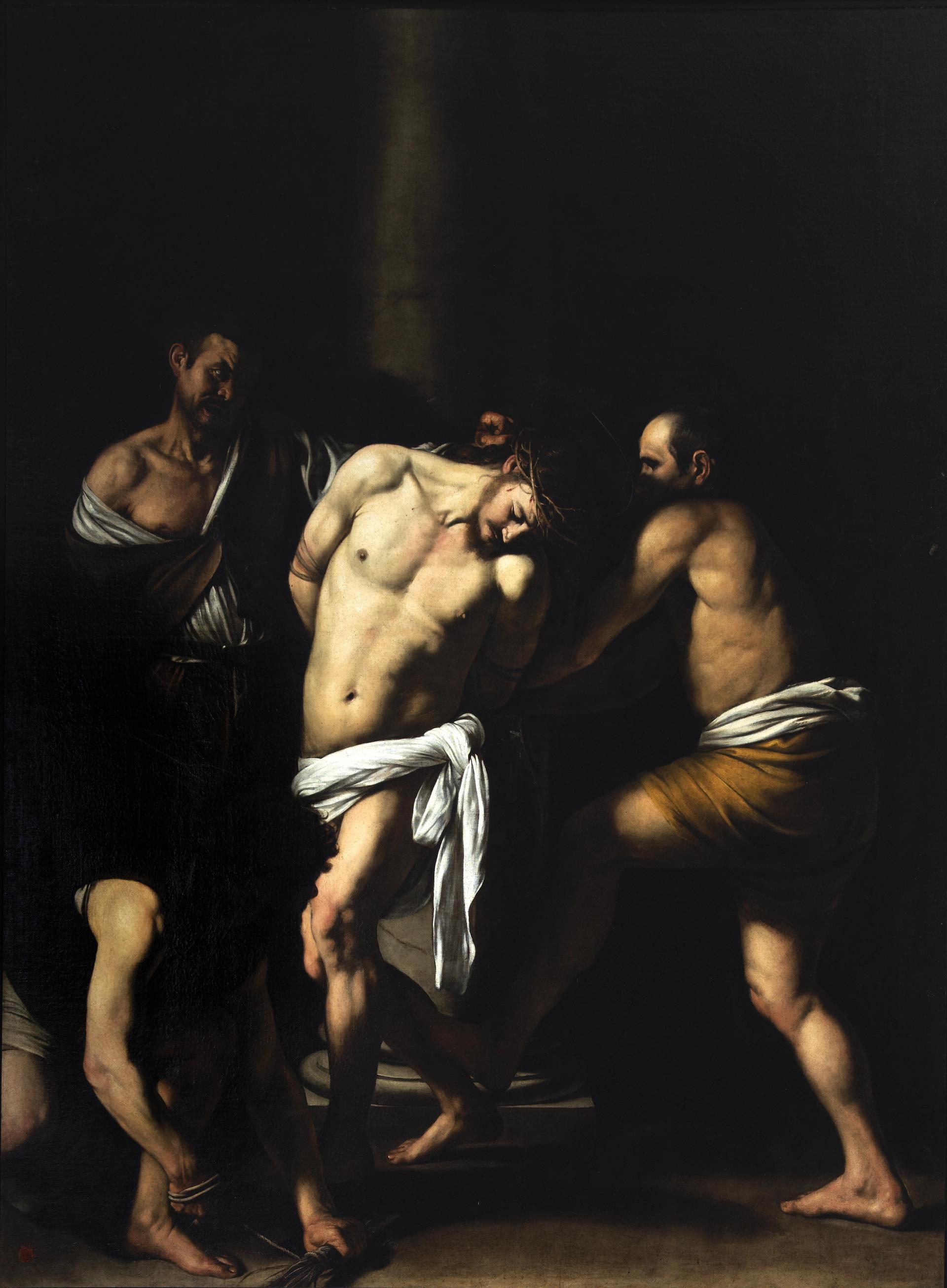The Capodimonte version of Caravaggio's Flagellation of Christ (1607) was originally created for the church of San Domenico Maggiore Courtesy of Capodimonte