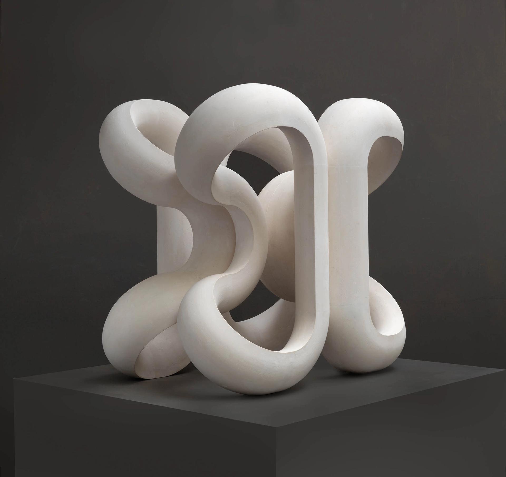 Paul de Monchaux, Volute VI (2018) Courtesy of the artist, Megan Piper and Bowman Sculpture