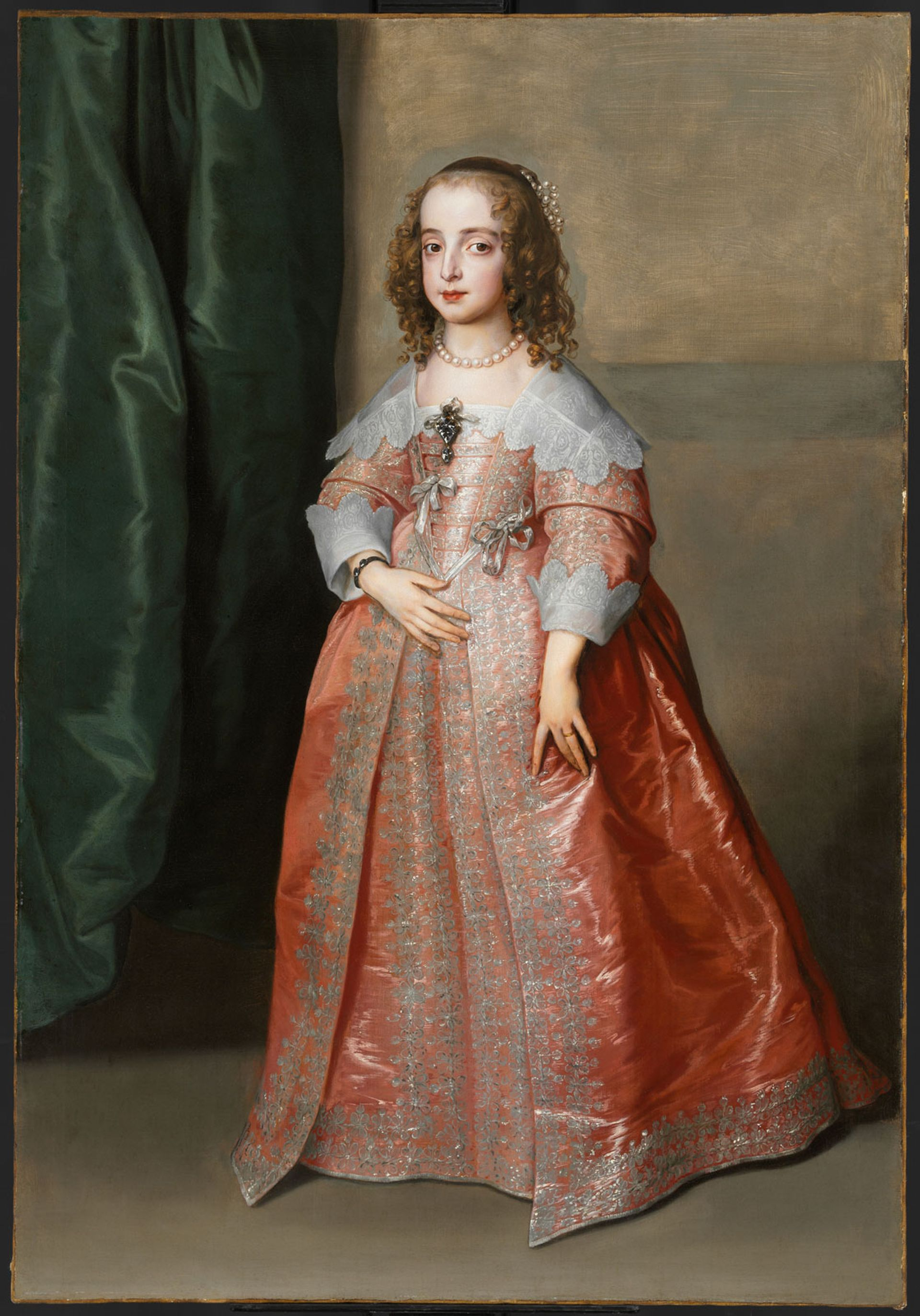 Anthony van Dyck's, Portrait of Princess Mary (1641) © Museum of Fine Arts, Budapest 2019