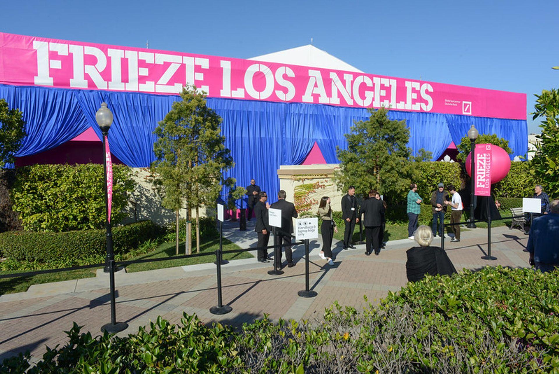 Frieze Los Angeles last ran in February 2020 Courtesy of Frieze