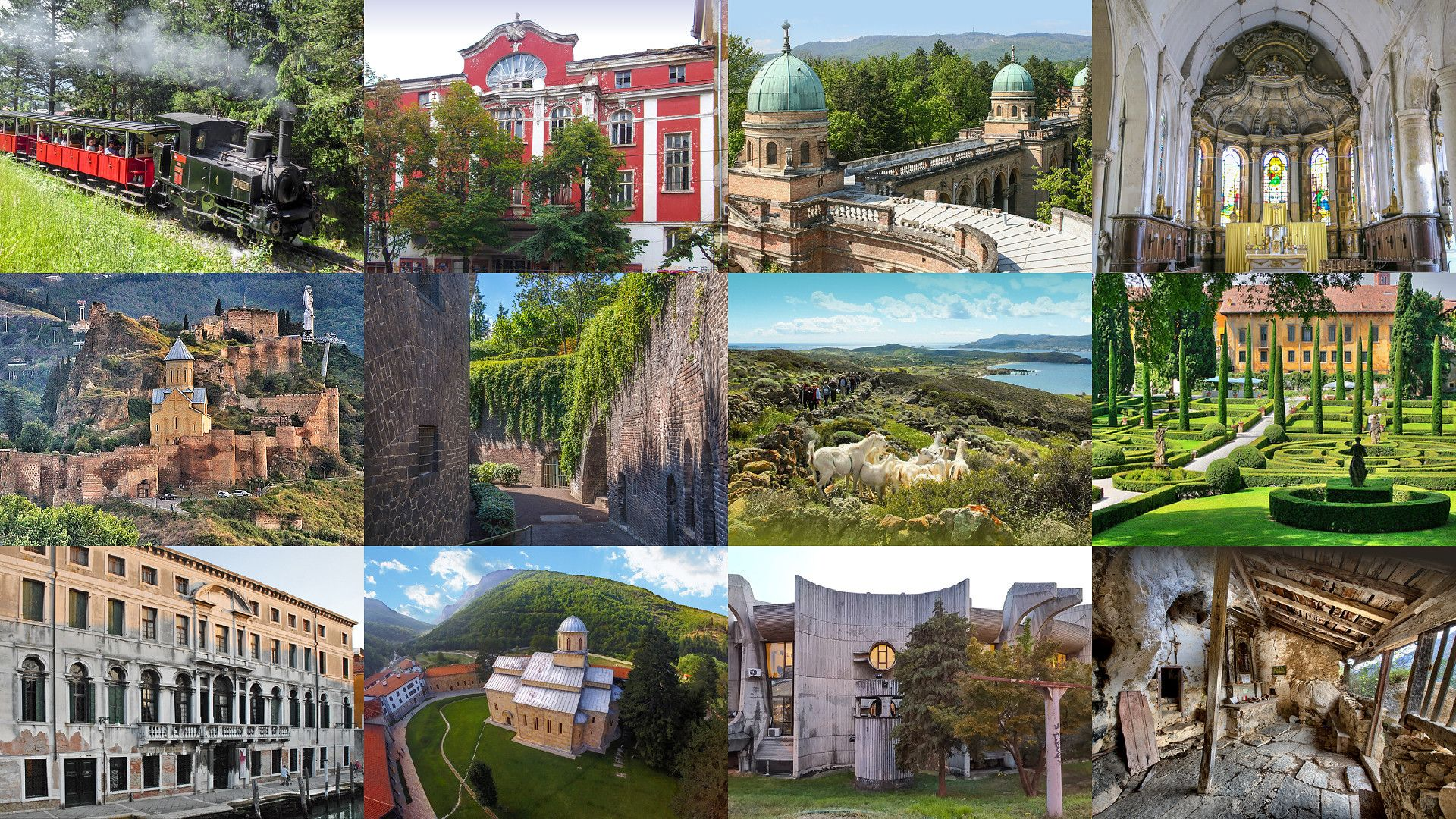 Europa Nostra has announced 12 candidates for its 2021 list of Europe's seven most endangered sites Courtesy of Europa Nostra
