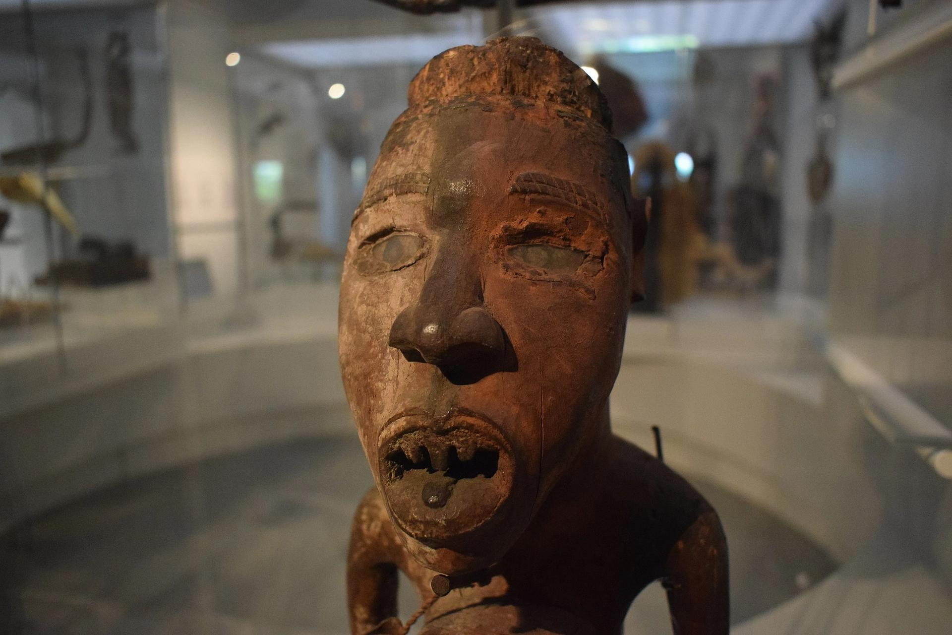 The Royal Museum of Central Africa at Tervuren has the largest collection of objects acquired in a colonial context