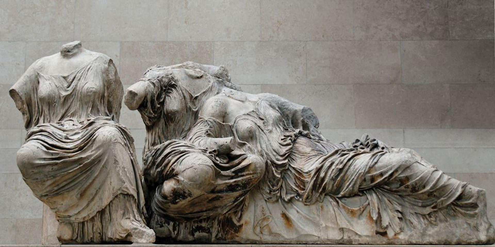 Parthenon sculptures in the British Museum © Marie-Lan Nguyen