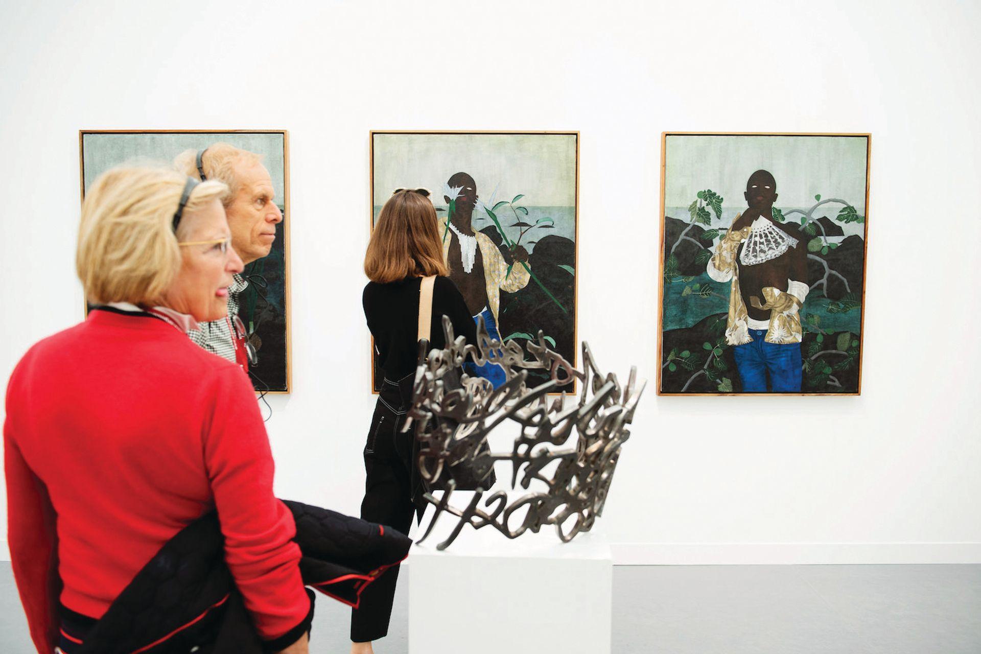 The art world remains predominantly white Courtesy of Linda Nylind/Frieze