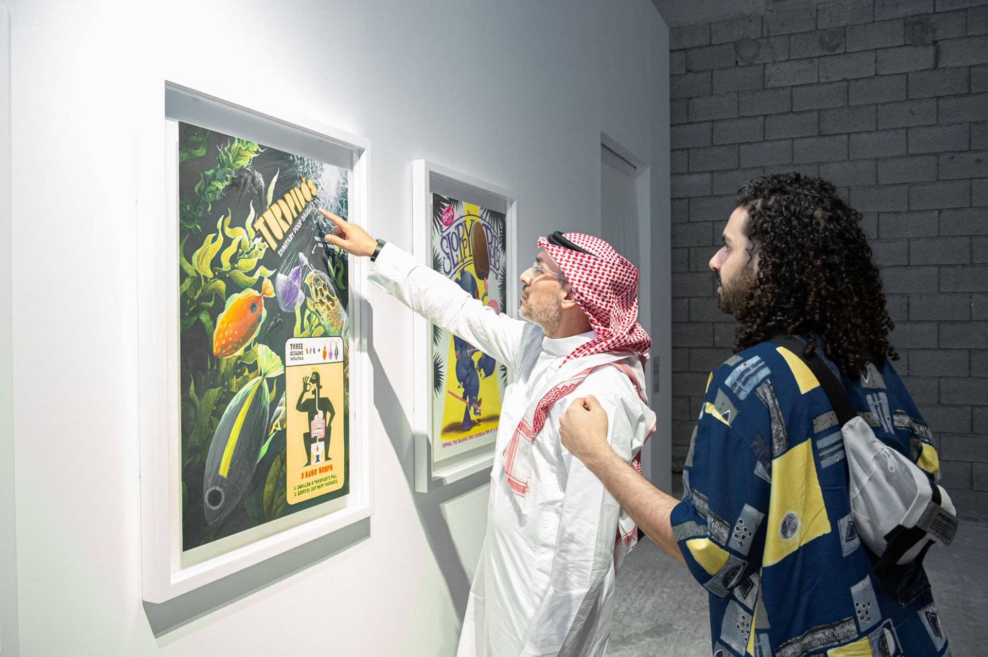 Obadah Aljefri, Non-perishables (2020) Photo: Abdullah AlMeslmani. Commissioned by Saudi Art Council