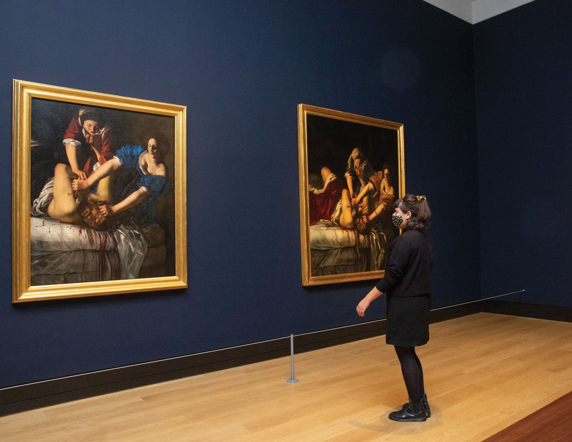 Artemisia at the National Gallery is currently closed in accordance with a second national lockdown across England Photo: The National Gallery, London