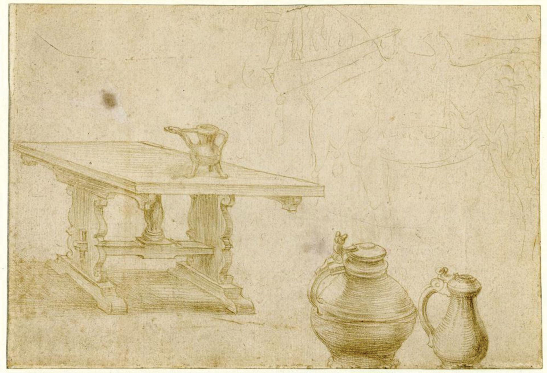 The Albertina's chief curator, Christof Metzger, has linked the British Museum'sdrawing to Zum Spiegel in Aachen, where Dürer tried his luck © The Trustees of the British Museum