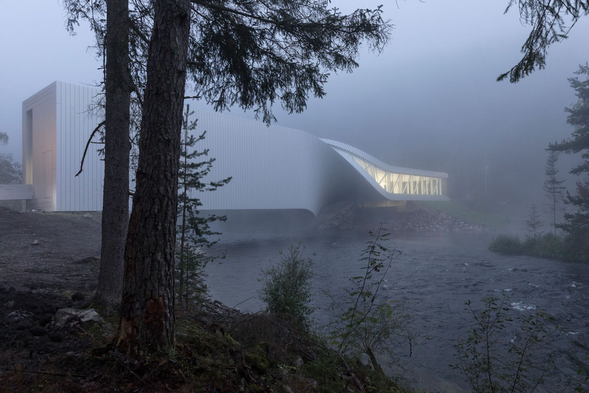 The Norwegian collector Christen Sveaas opened The Twist outside Oslo in September © Laurian Ghinitoiu, courtesy of Kistefos Museum