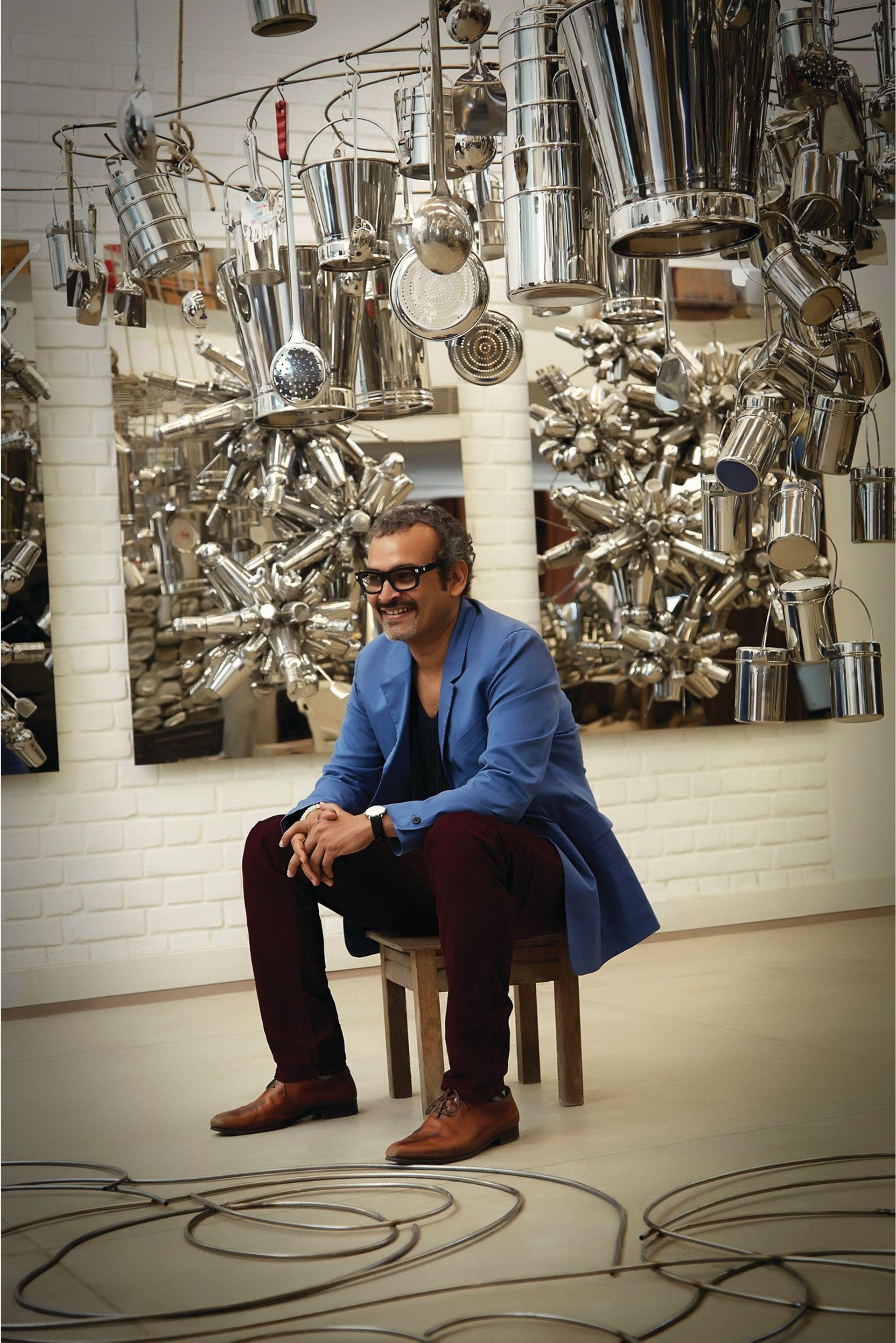 Subodh Gupta © Dia Bhupal
