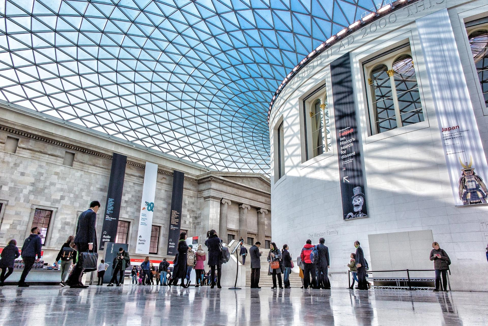The British Museum has not yet confirmed its reopening dates © Nicolas Lysandrou