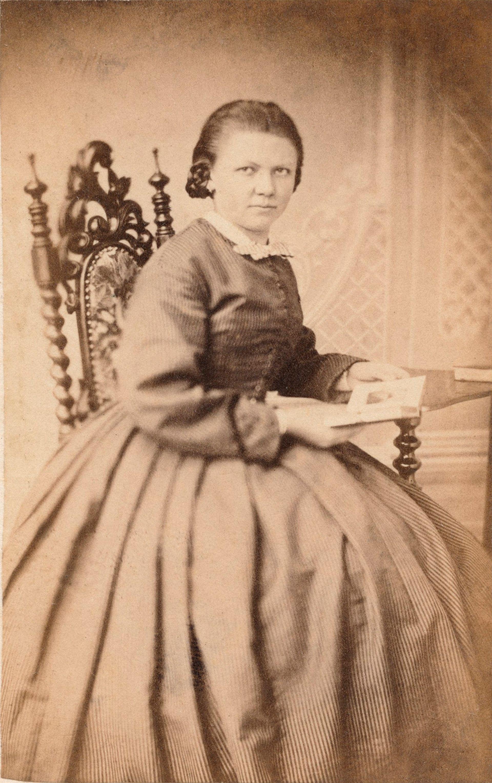 Anna Birnie, aged around 17 (around 1862) Courtesy of the Birnie family