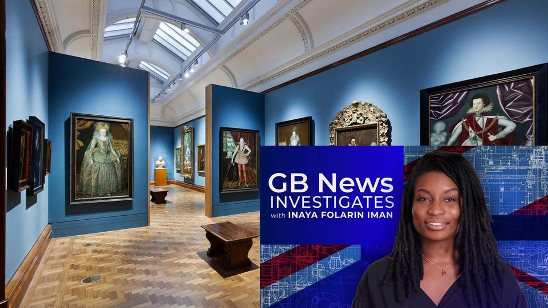Inaya Folarin Iman (inset right) has been appointed a trustee of the National Portrait Gallery, London