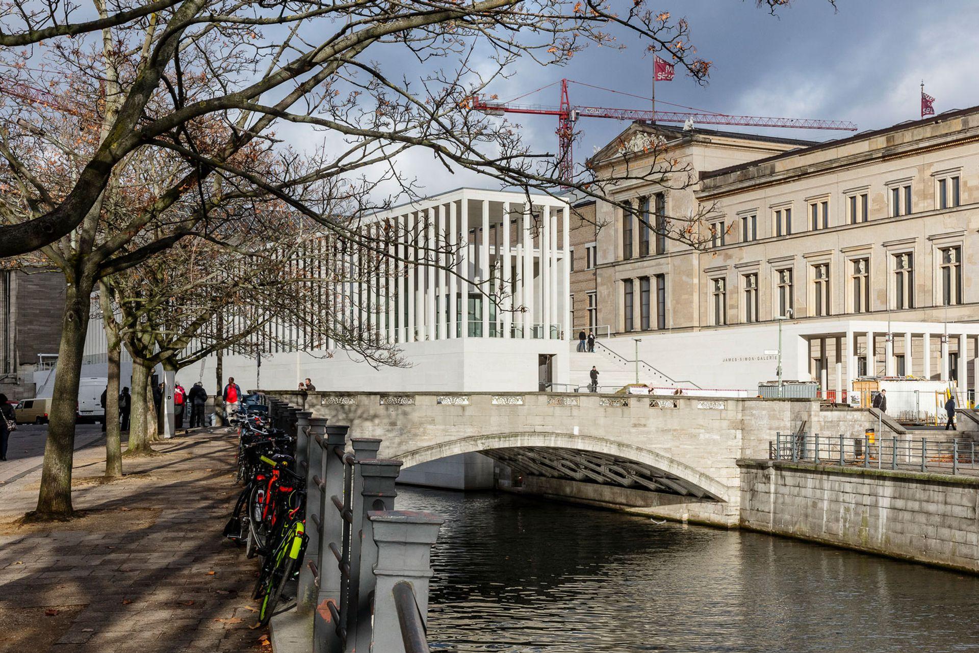 James Simon Galerie © David Chipperfield Architect