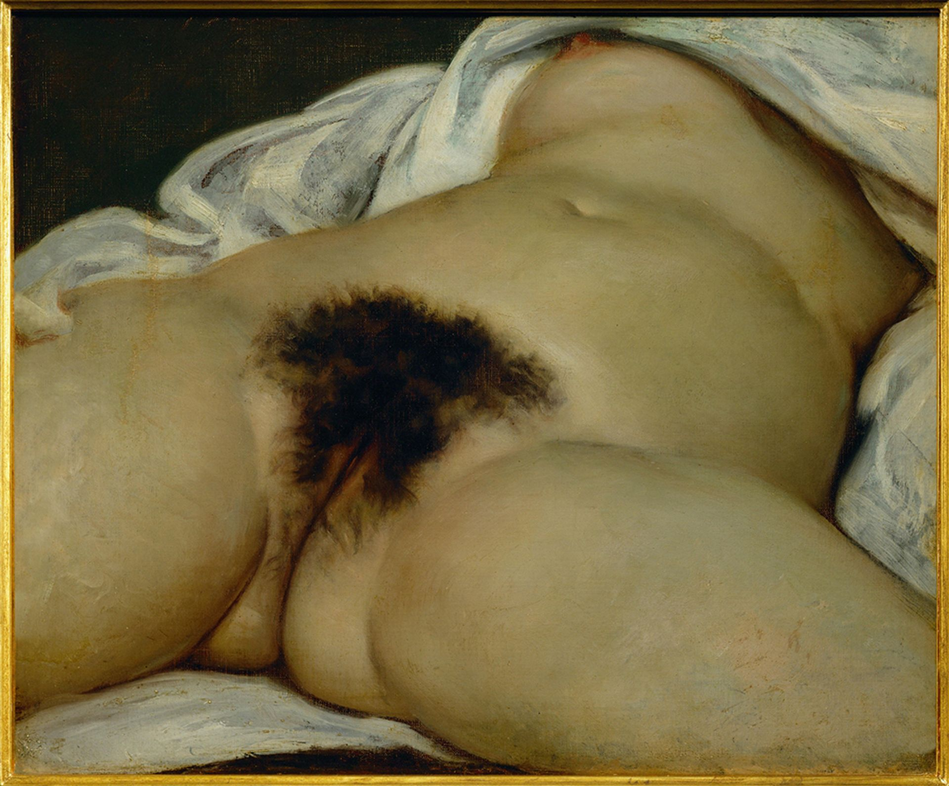Gustave Courbet, L'Origine du monde (Origin of the World, 1866)