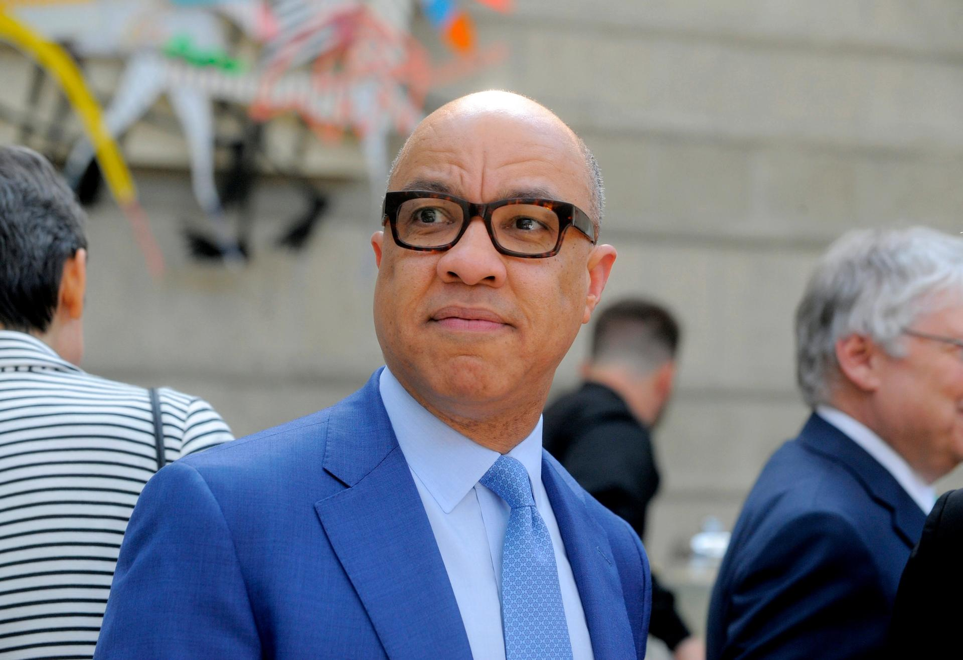Ford Foundation President Darren Walker attends a reception at the Charles H. Wright Museum in Detroit Steve Perez/Detroit News via AP