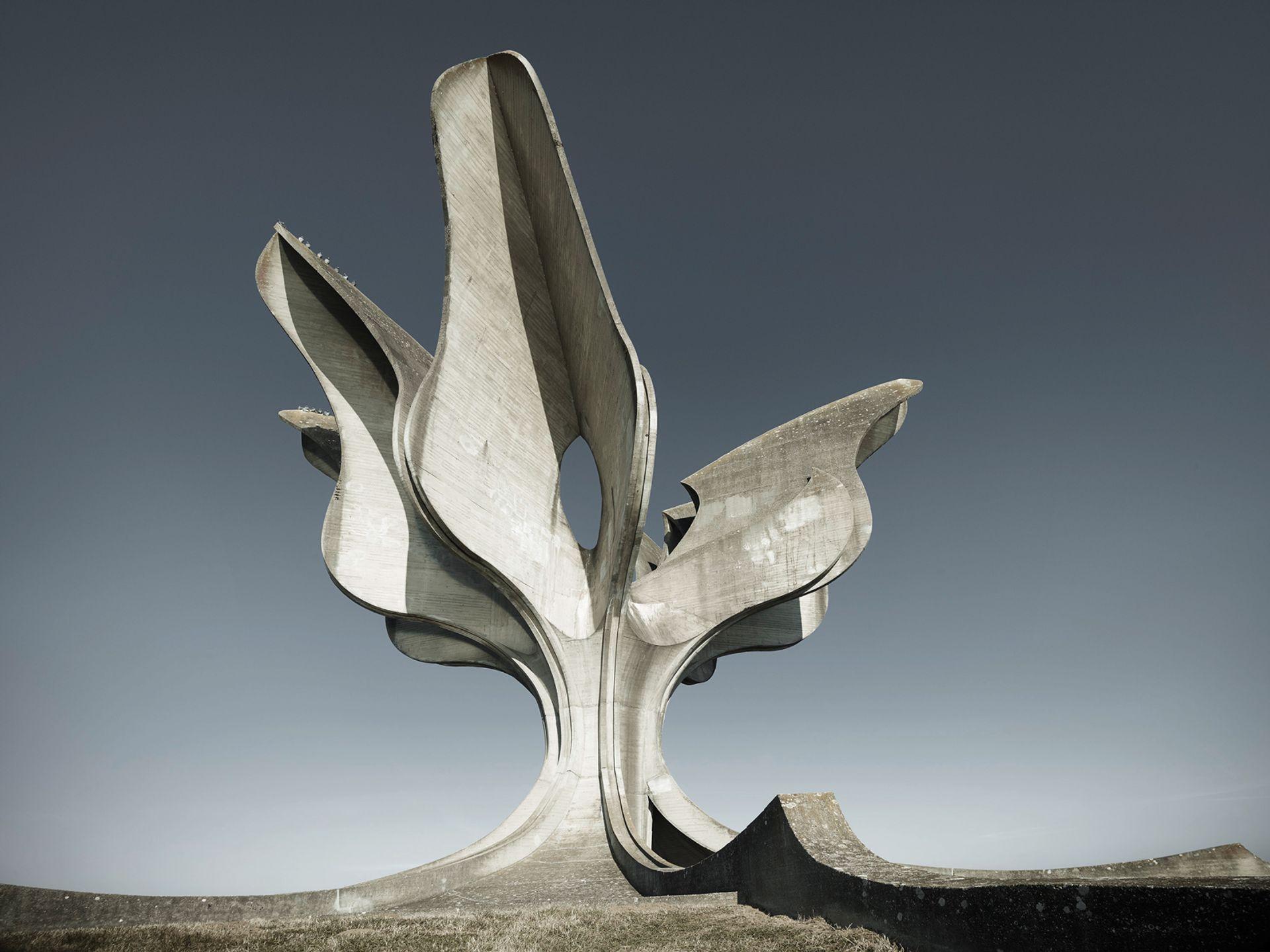 The Jasenovac Memorial by Bogdan Bogdanović's (1959-66) Courtesy of the artist; Photo: Valentin Jeck