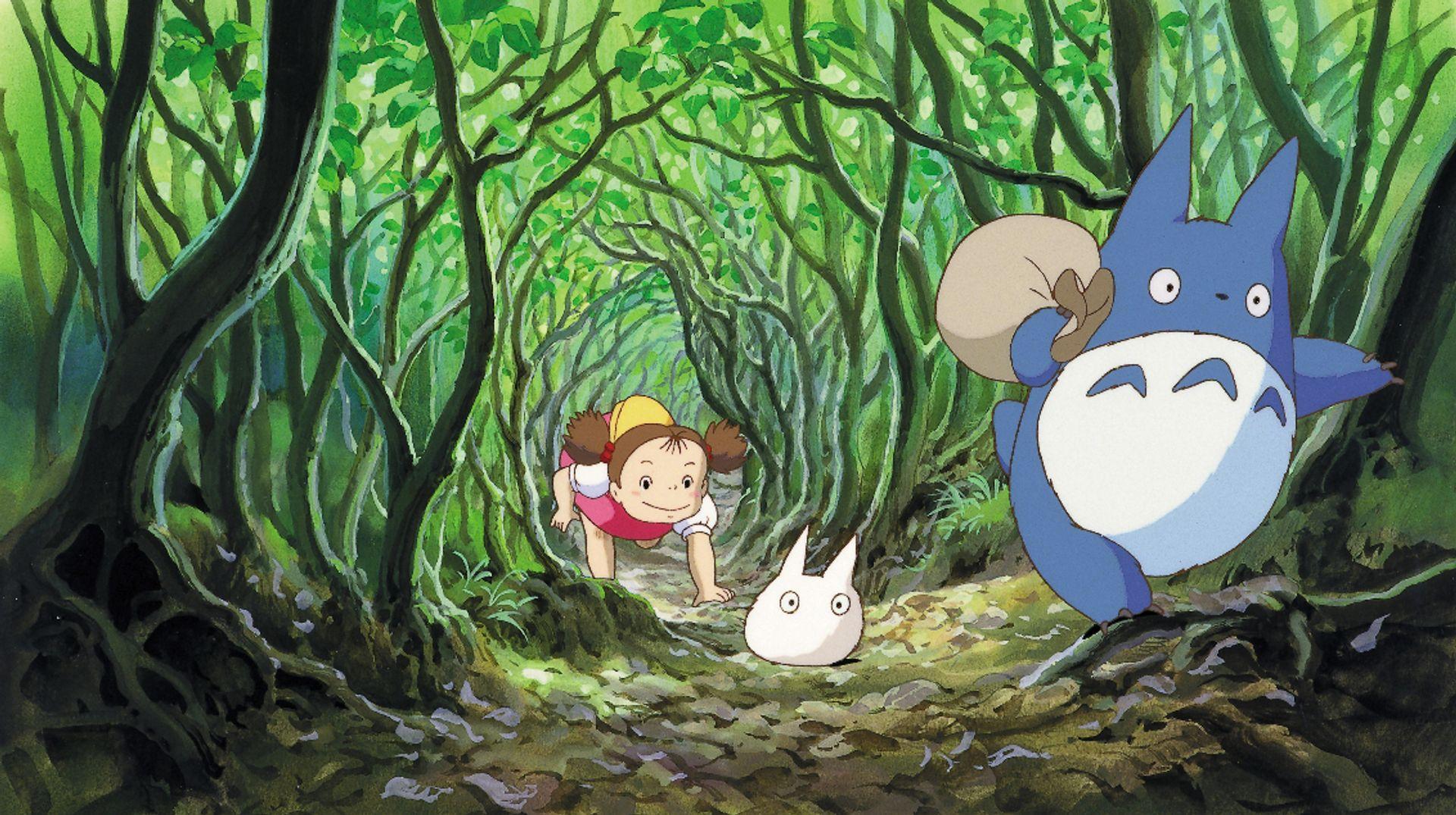 Film Still, My Neighbor Totaro (1988), by Hayao Miyazaki © 1988 Studio Ghibli