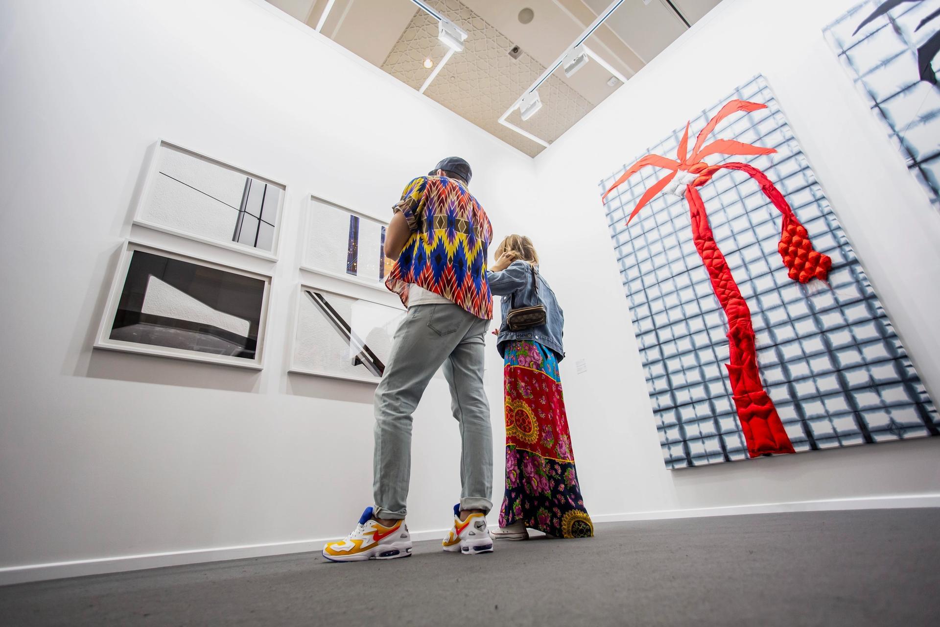 Isabelle van den Eynde gallery at Art Dubai in 2019 Courtesy of Photo Solutions