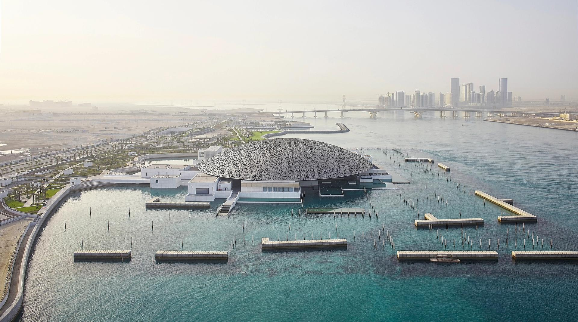 The Jean Nouvel-designed Louvre Abu Dhabi Courtesy of Louvre Abu Dhabi