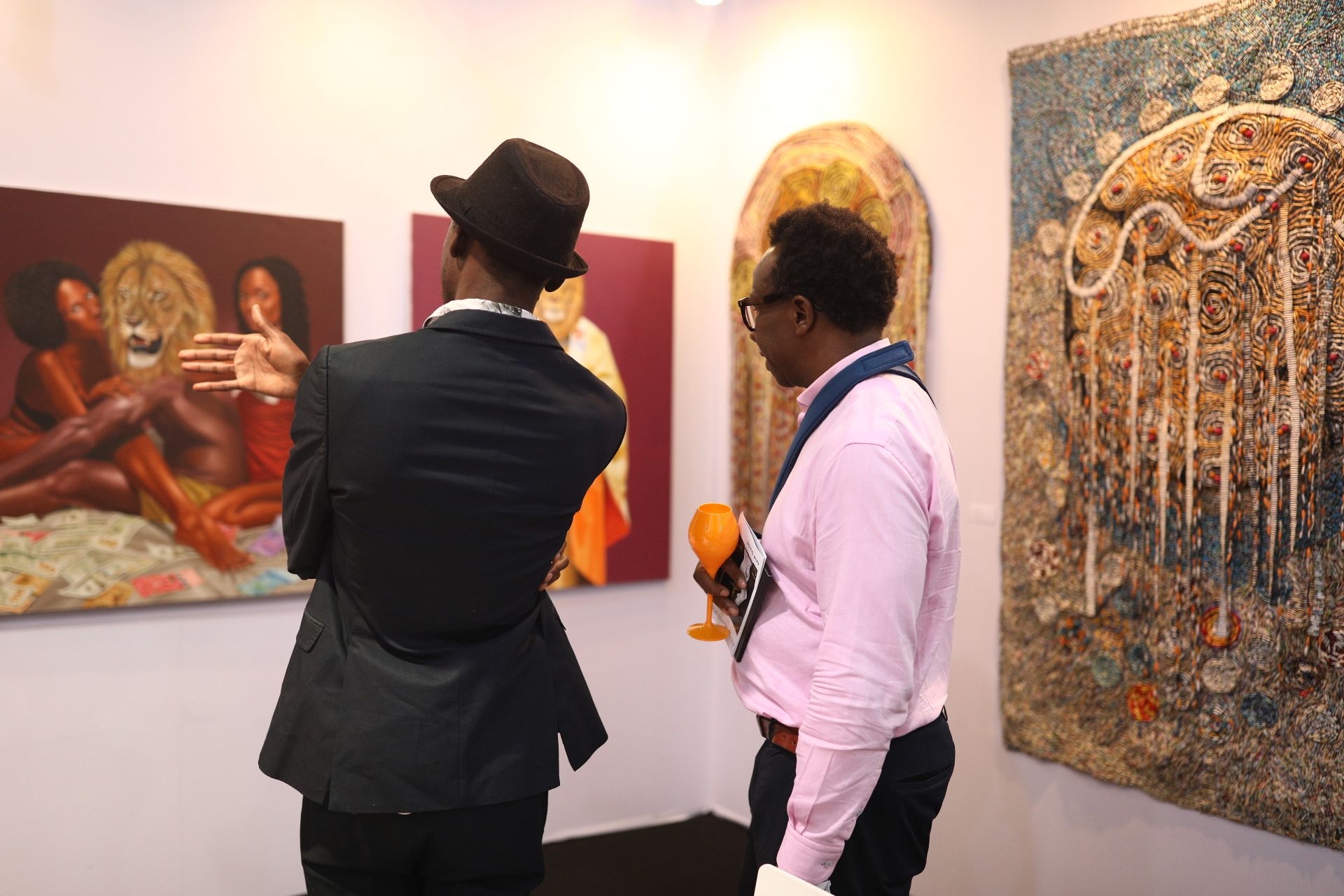 Art X Lagos wants to expand Nigeria's collecting base to support its artists © Art X Lagos