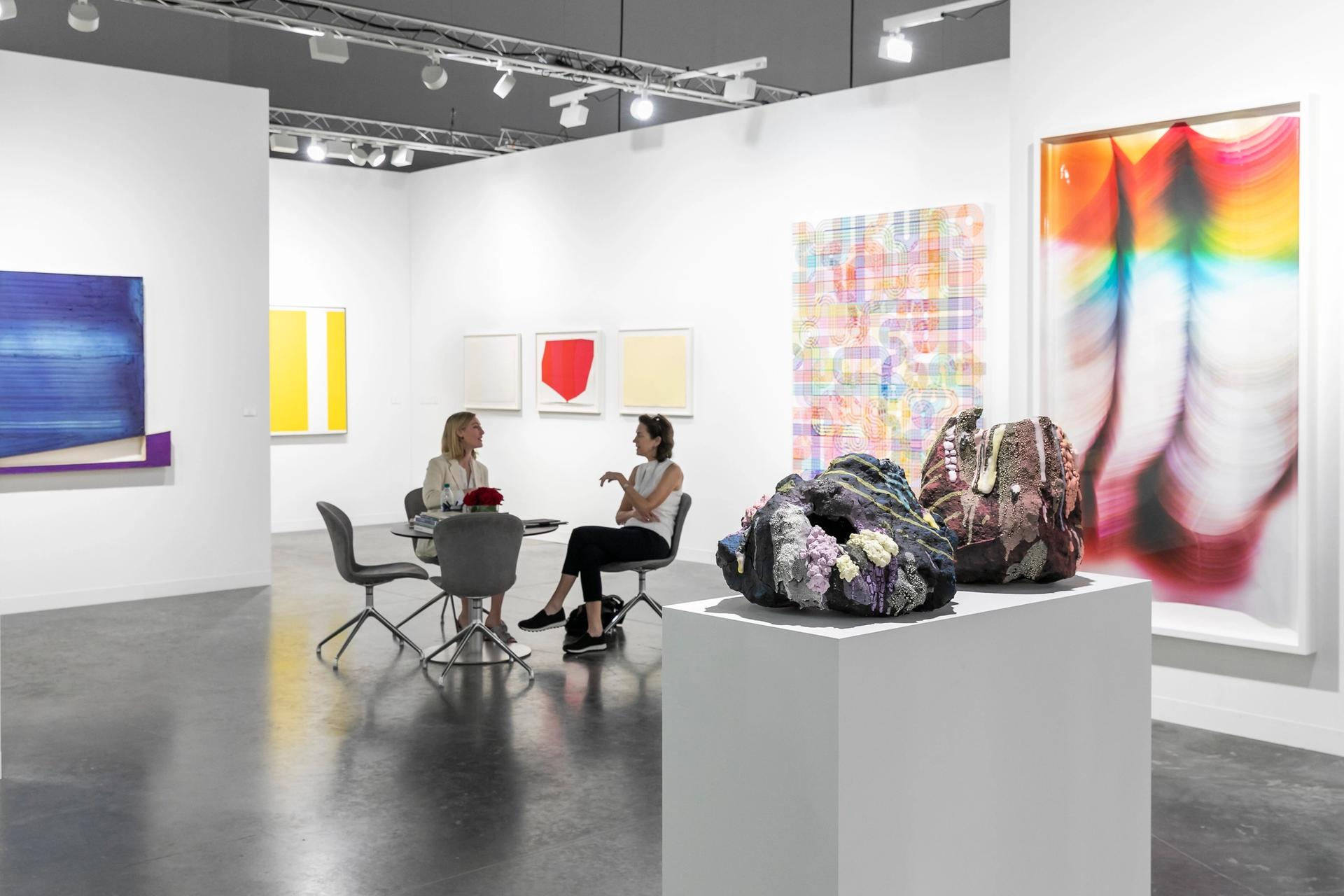 Employment in the arts is predominantly female, a new report finds © Art Basel