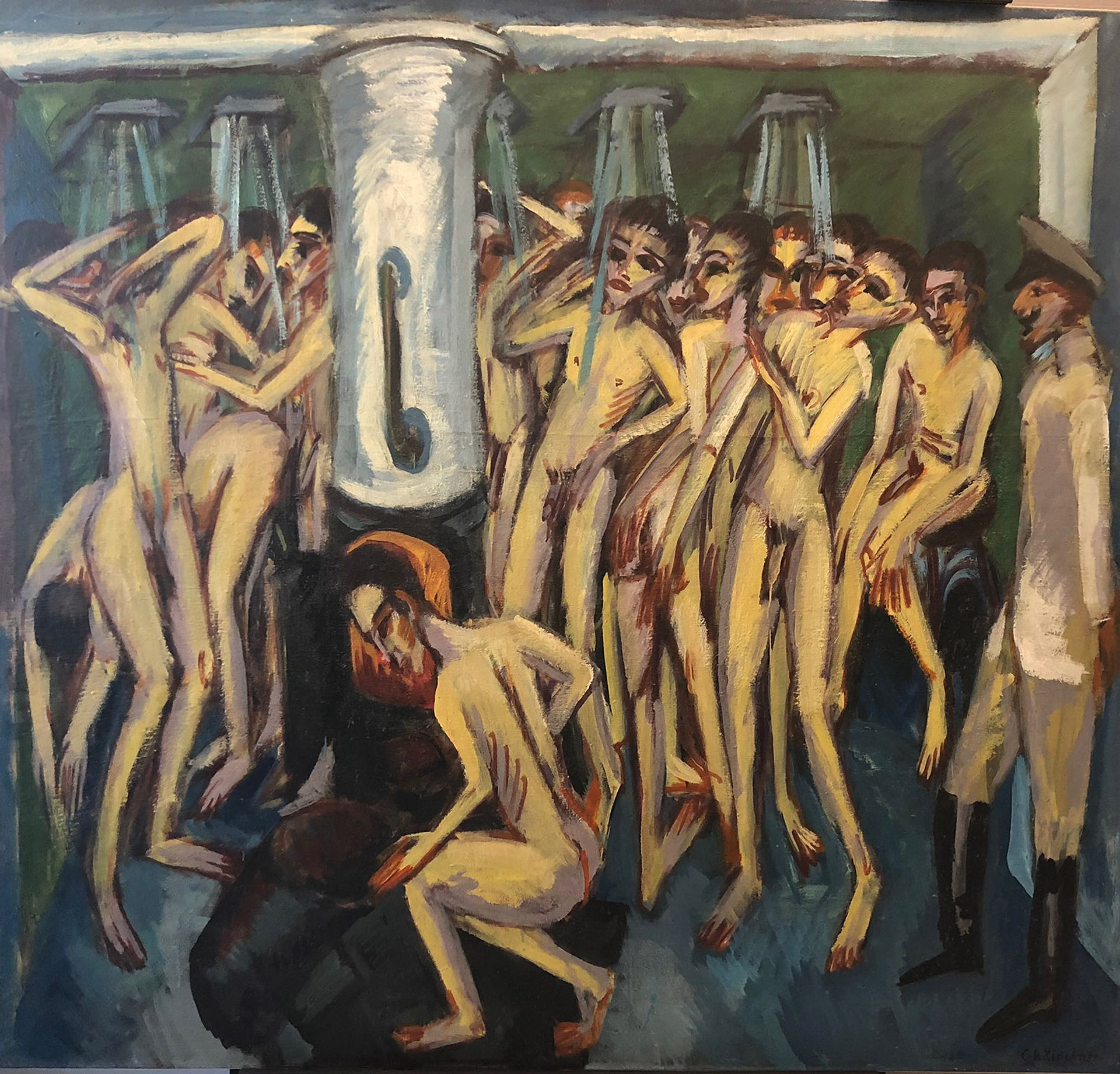 Kirchner's Artillerymen (1915) © Mel Urbach