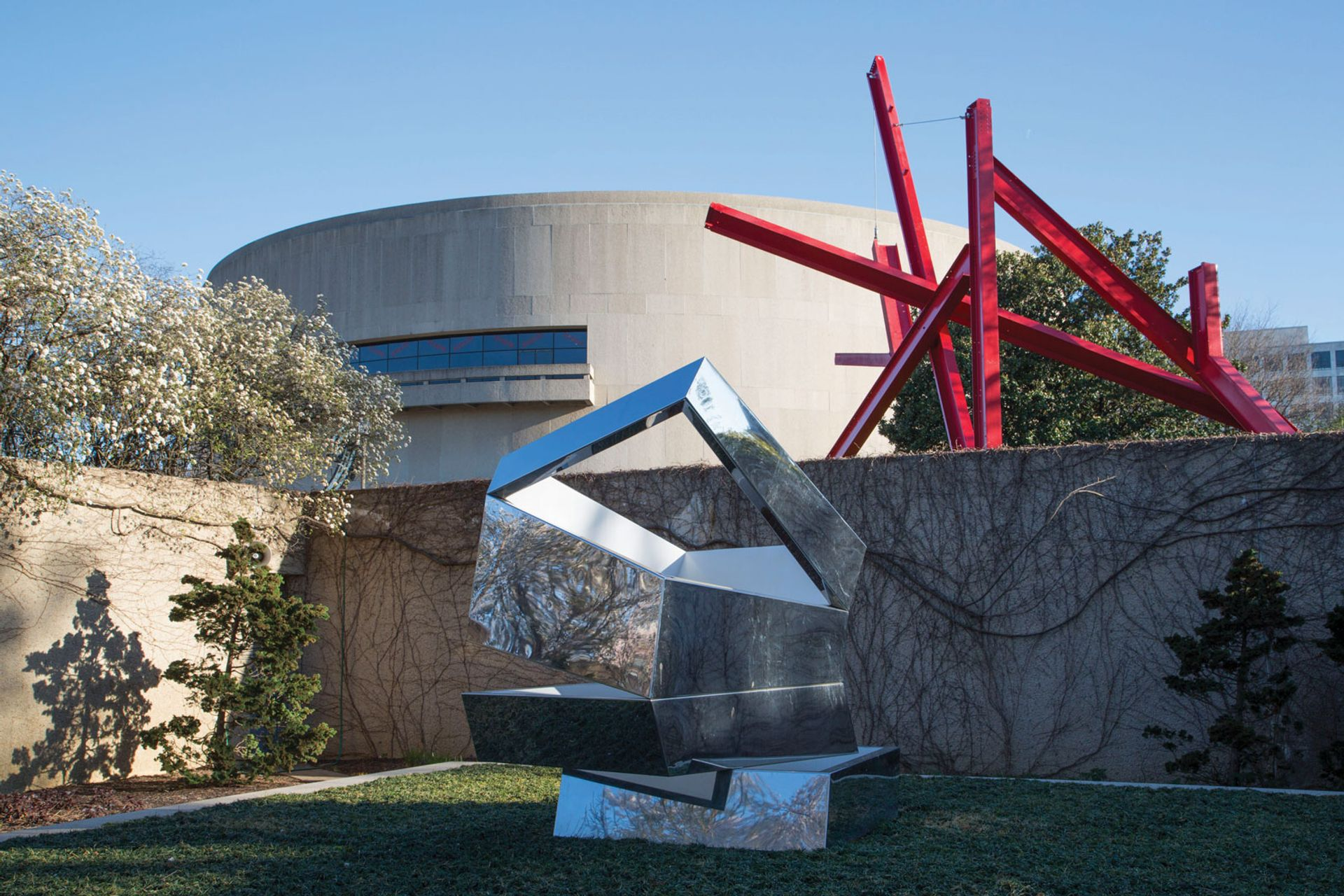The Hirshhorn's current sculpture garden Photo: Cathy Carver; courtesy of the Hirshhorn