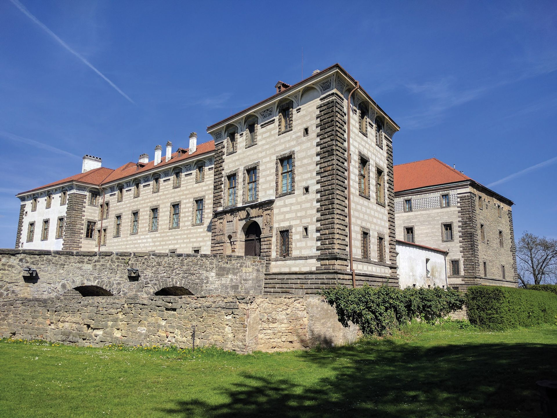 Grand design: Nelahozeves Castle near Prague
