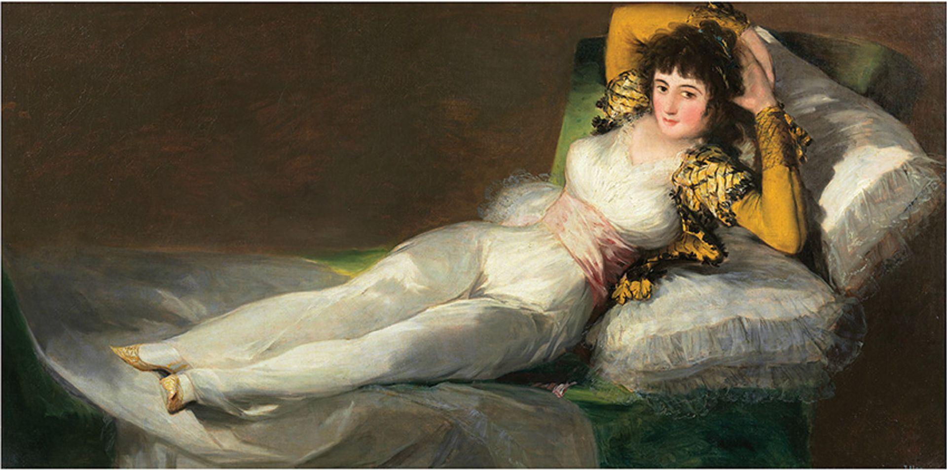 Francisco de Goya's The Clothed Maja (1800-07) will be on show at the Beyeler Image: courtesy of Museo Nacional del Prado