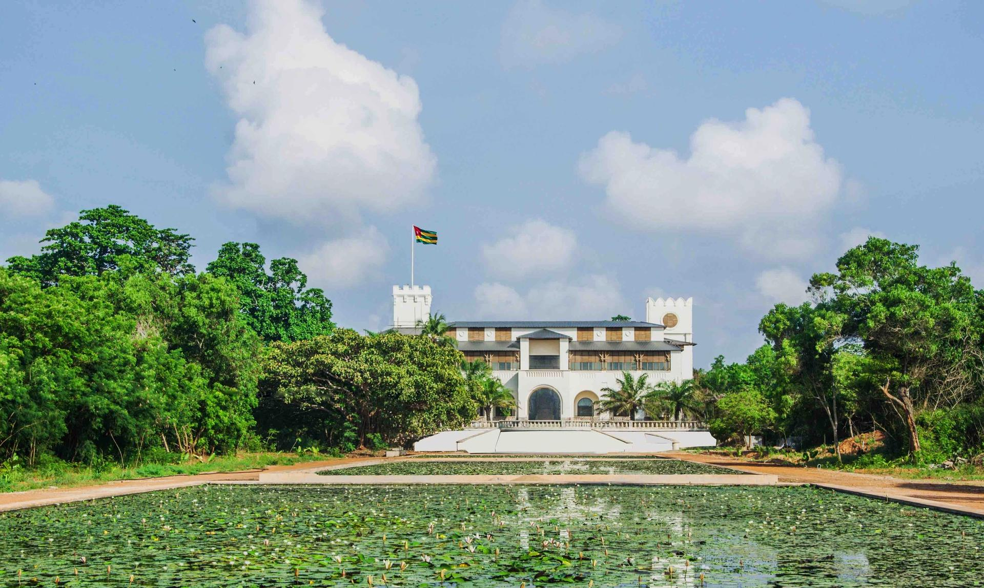 Palais de Lomé in Togo is housed in the former Governor's Palace, a remnant of the country's colonial history © 2018 - Palais de Lomé