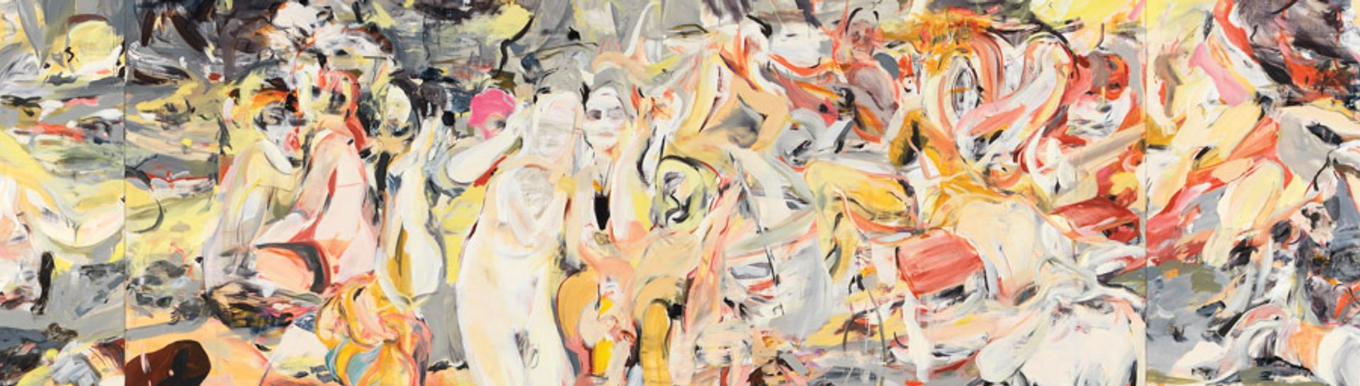 Cecily Brown's Where, When, How Often and with Whom (2017) © Louisiana Museum of Modern Art; courtesy of the artist