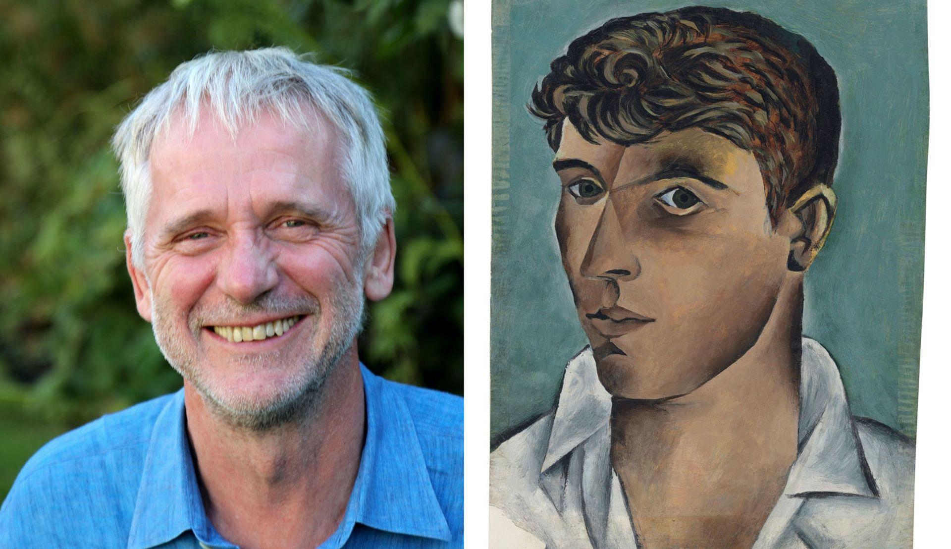 Ian Collins and John Craxton's Self Portrait (1946-47) Craxton: Photo: Christie's