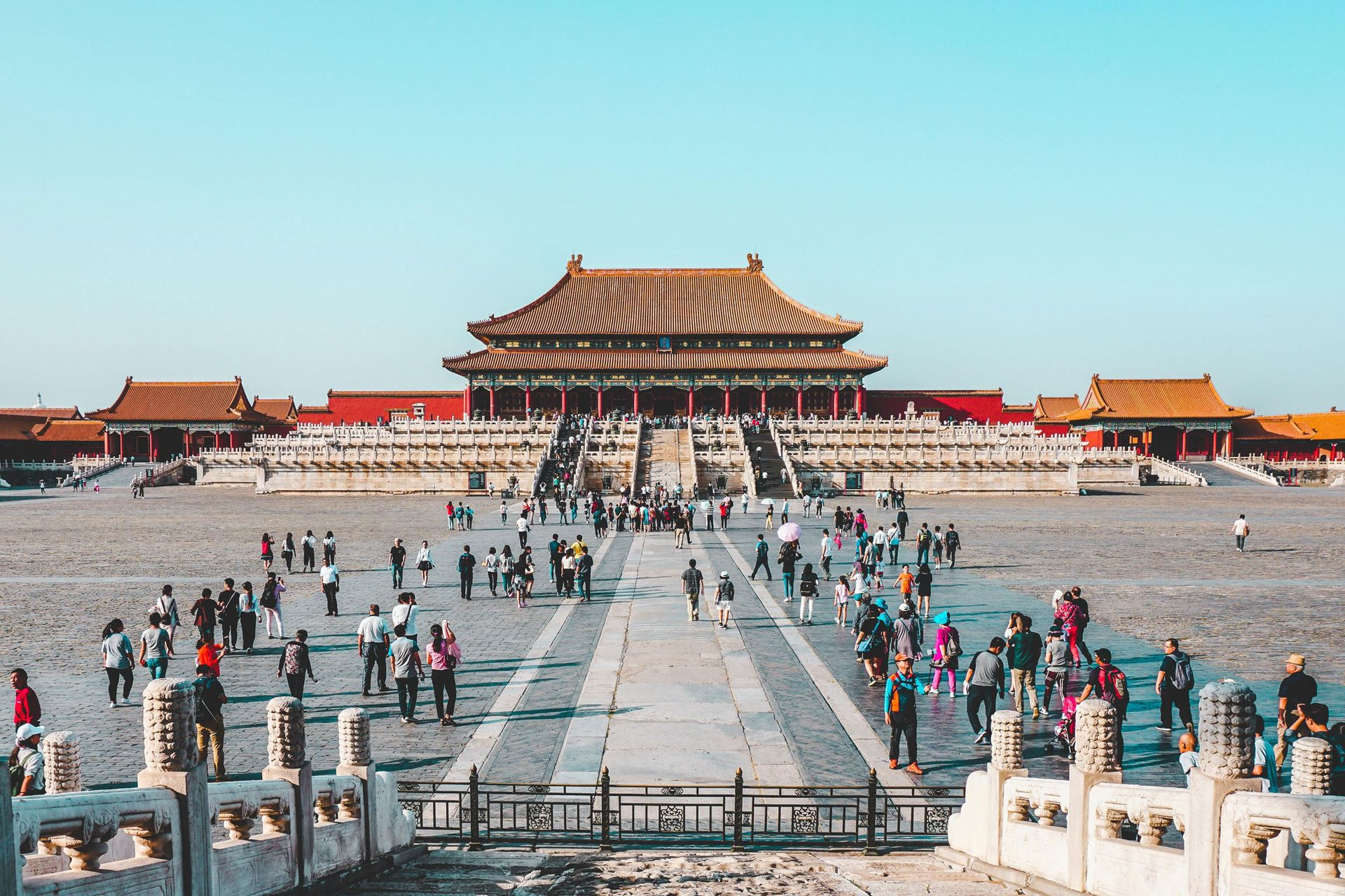 Beijing's Palace Museum or Forbidden City, one of the China's top attractions, will limit visitor numbers to 5,000 a day from 1 May © Ling Tang