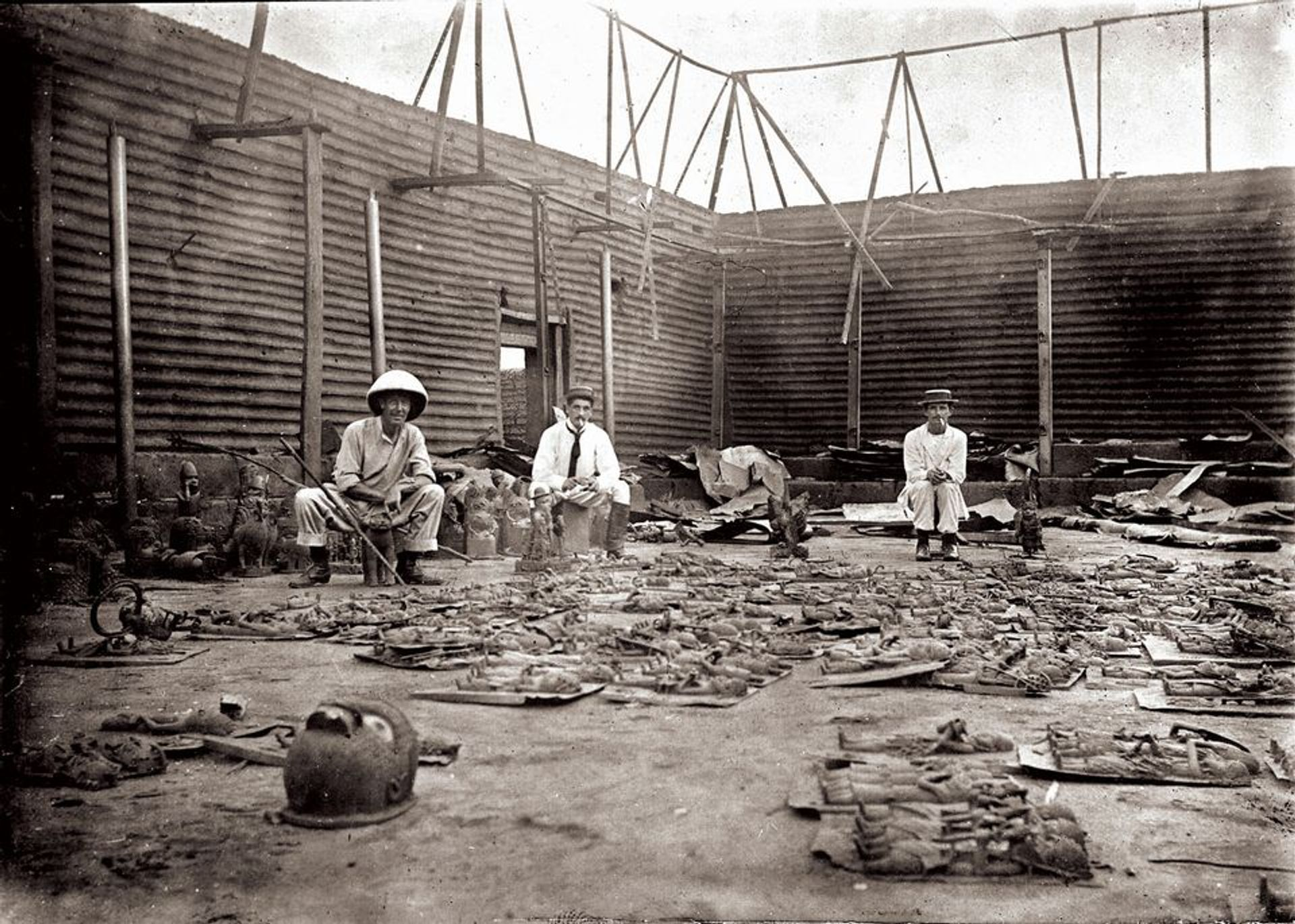 Nigeria has filed restitution claims for objects looted in the siege of Benin City in 1897 Reginald Kerr Granville