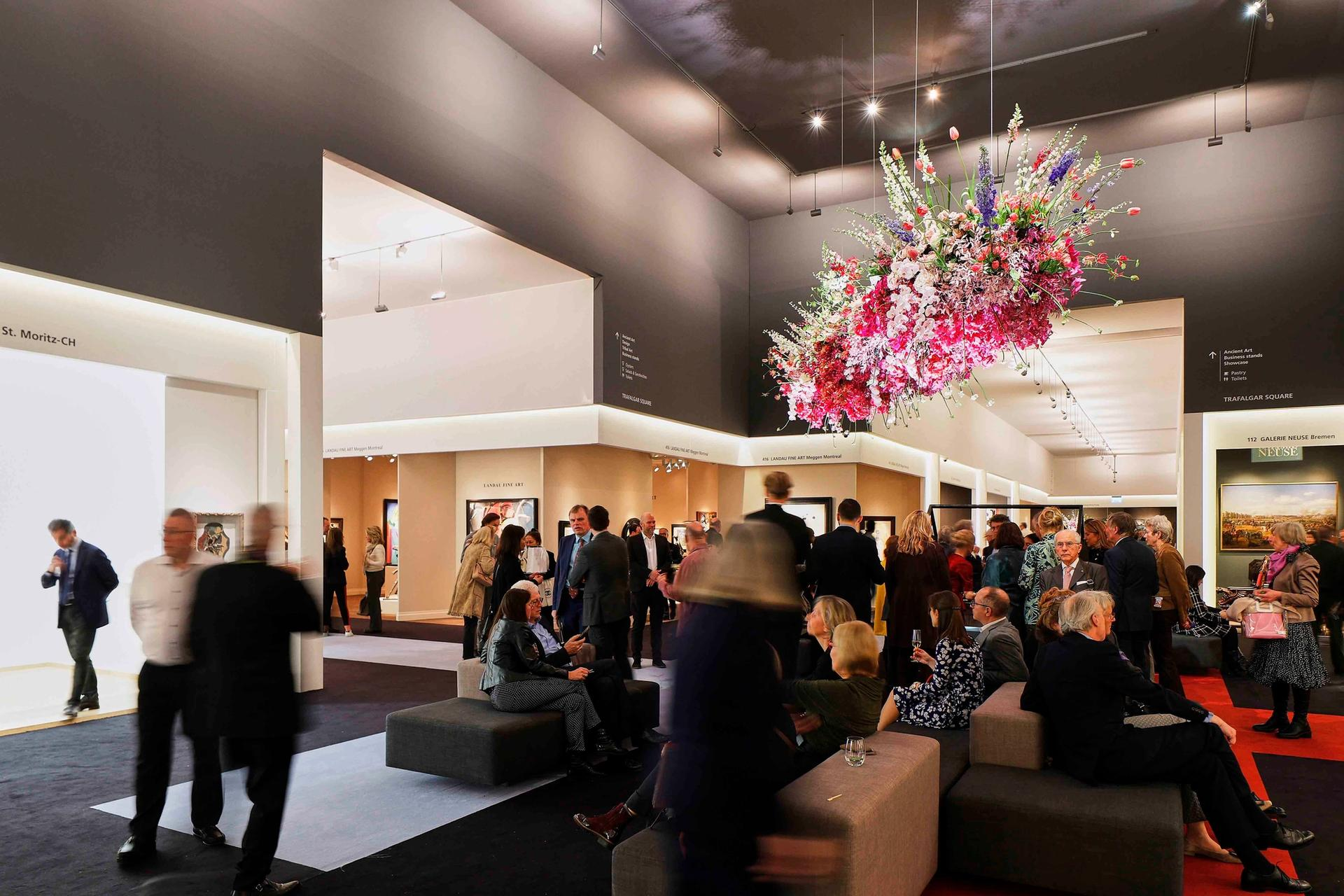 Tefaf Maastricht has around 285 exhibitors and attracted 4,000 visitors for its first preview day last Thursday Courtesy of Tefaf