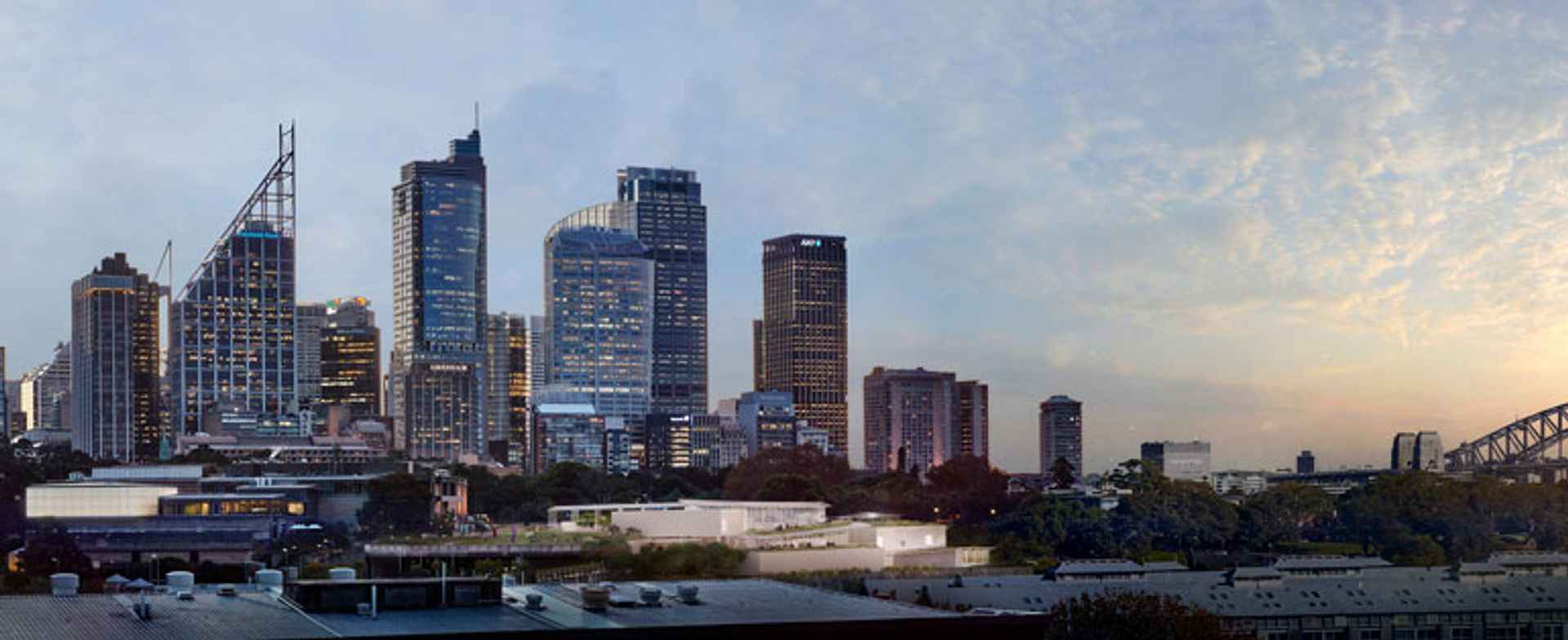 Image of the Sydney Modern Project as produced by Kazuyo Sejima + Ryue Nishizawa / SANAA SANAA