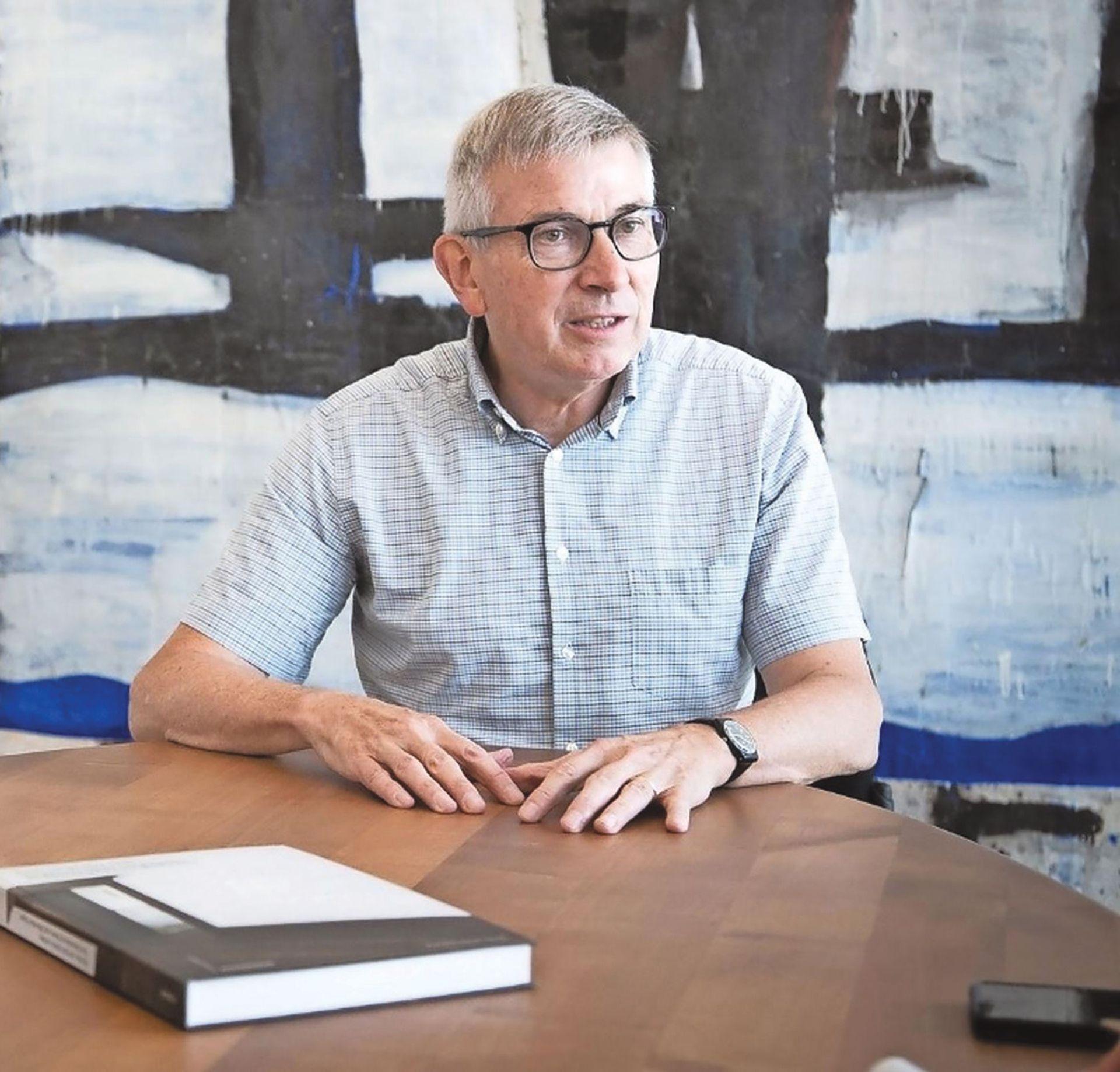 Hans Furer, former managing director of the Art Galleries Switzerland association © Nicole Pont