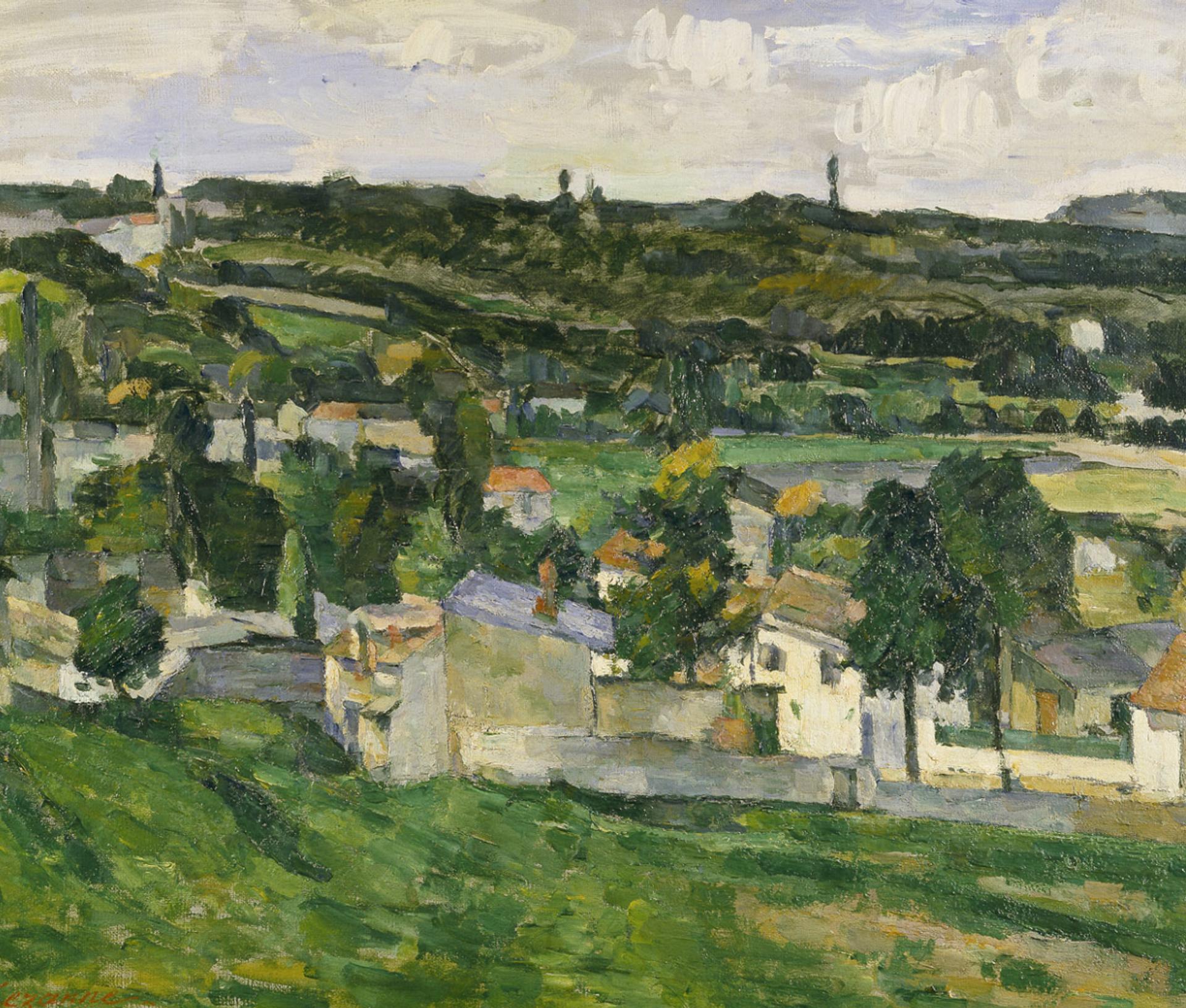 Cézanne's View of Auvers-sur-Oise (1879-80)