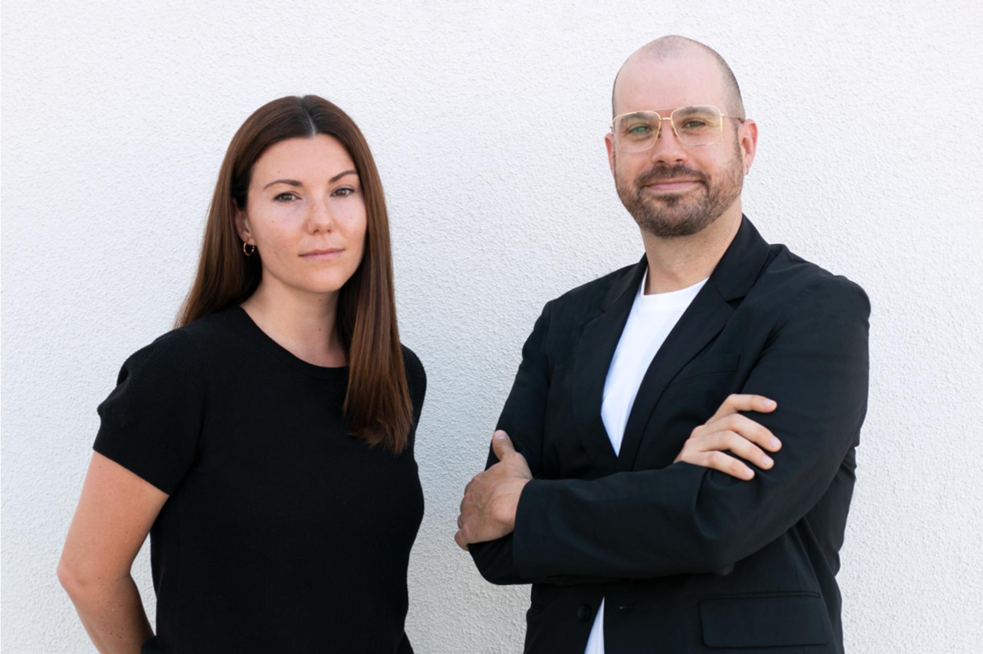 Stephanie Dudzinski and Bryan Barcena Photo: Caroline Wallis