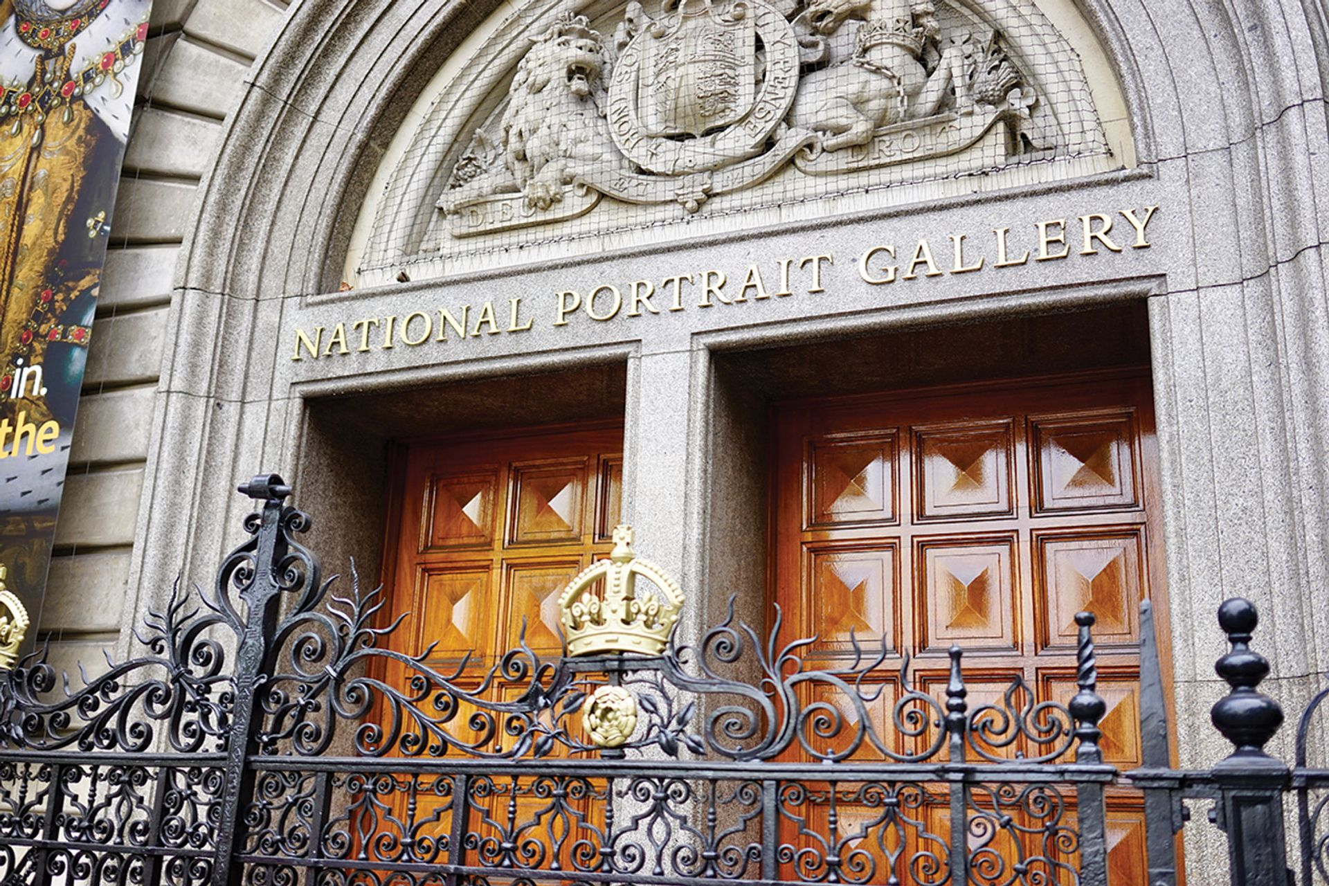 The National Portrait Gallery in London