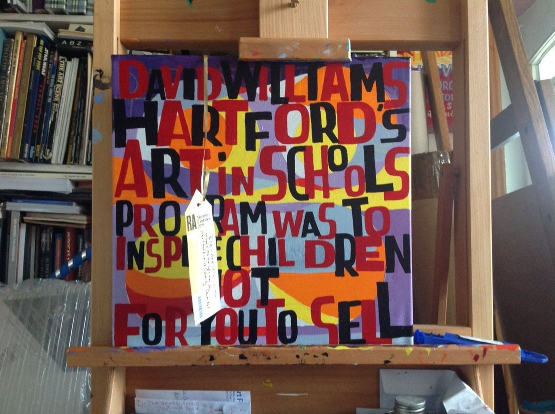 Bob and Roberta Smith's Memo to the Leader of Hertfordshire County Council