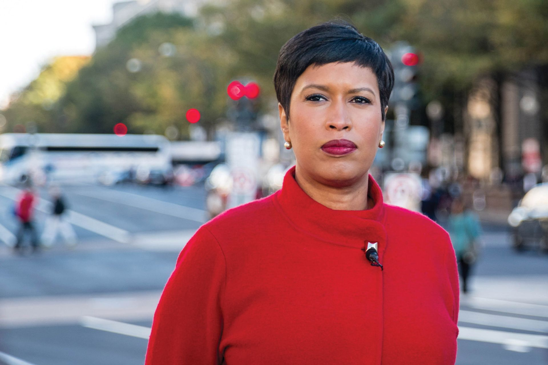 Muriel Bowser has sparked controversy with her takeover of the Mayor's Arts Awards and attempts to change city arts funding, despite opposition from council chairman Phil Mendelson Photo: Lorie Shaull