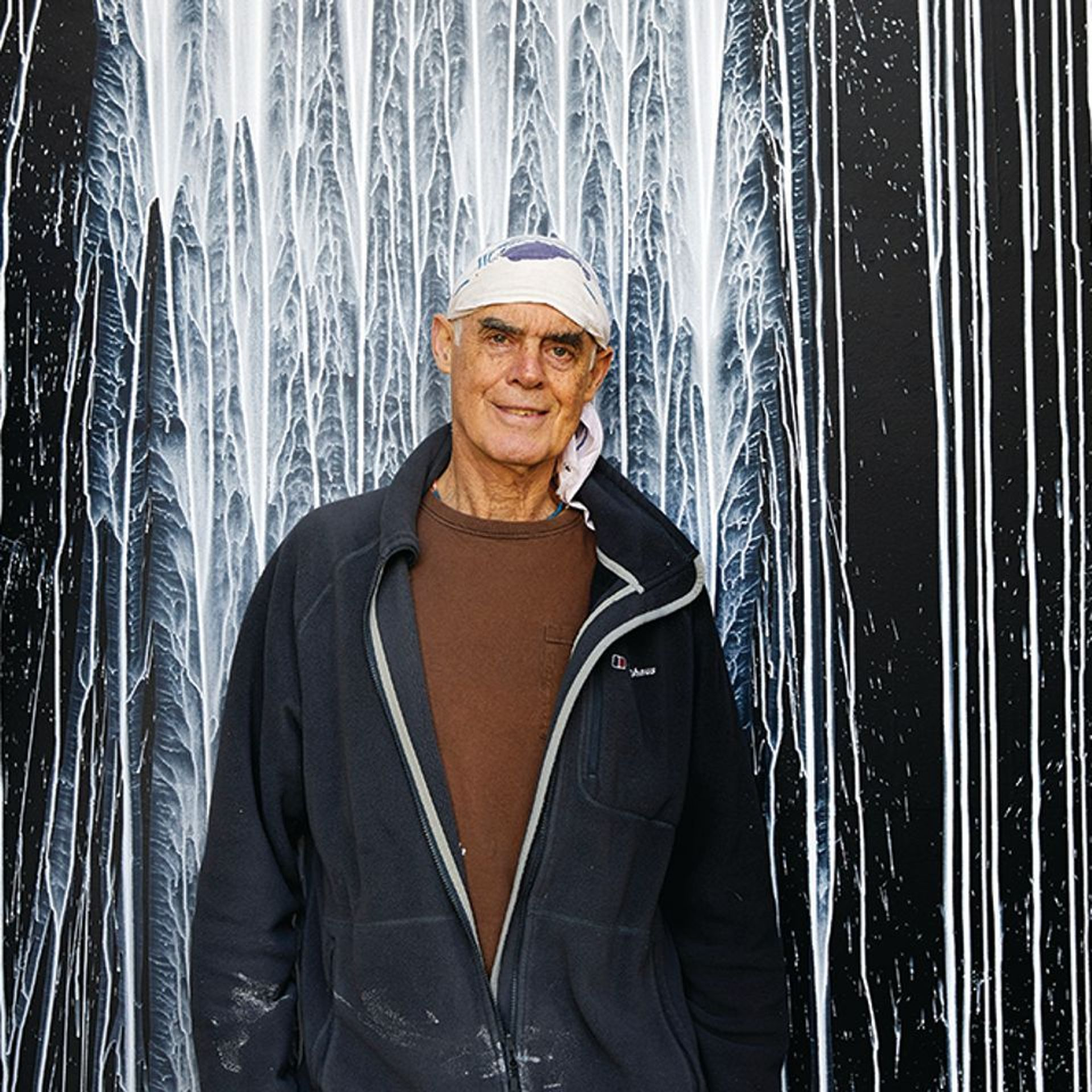 Richard Long and White Water Falls, Houghton Hall (c) Pete Huggins