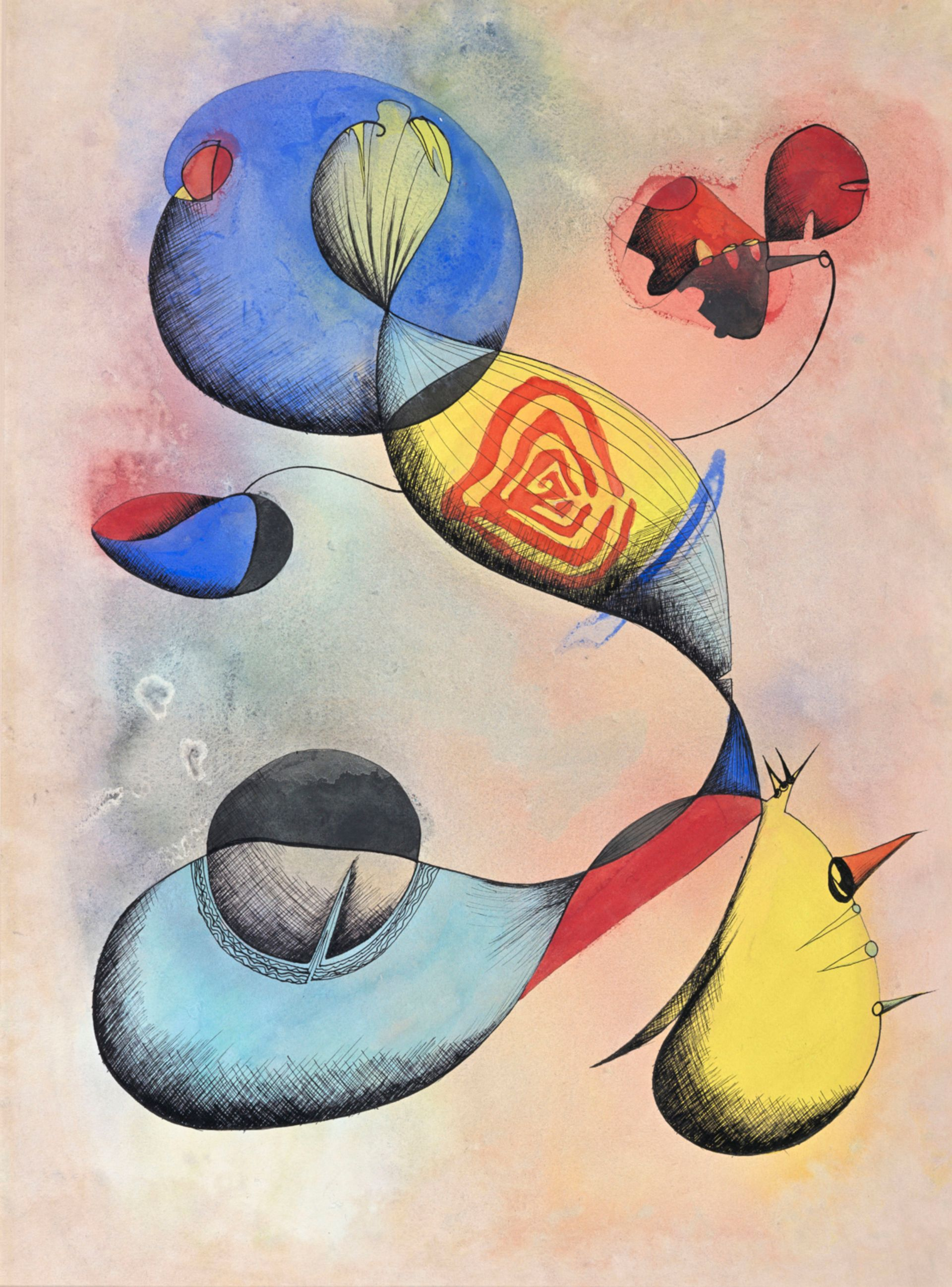 Ithell Colquhoun's Toy (1947) Courtesy Tate Archive: Transferred from the National Trust, 2019