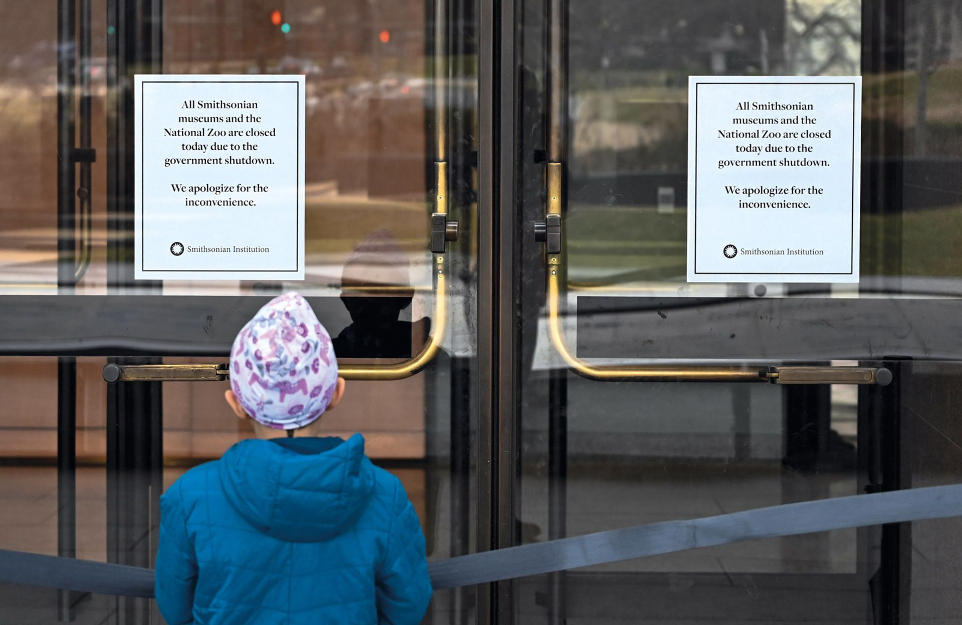 US Government shutdown © Andrew Caballero-Reynolds/AFP/Getty Images