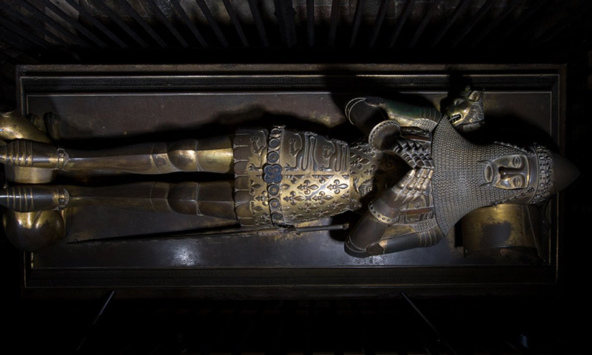 Secrets of the Black Prince's tomb effigy in Canterbury Cathedral revealed by scientists