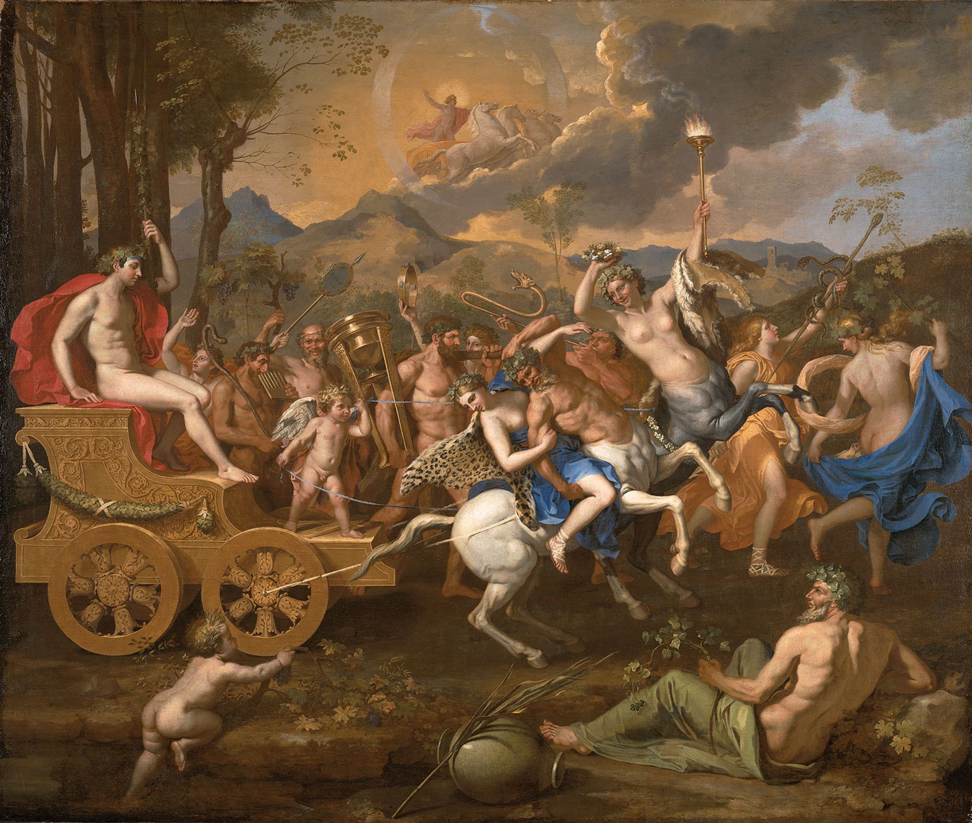 Nicolas Poussin's The Triumph of Bacchus (1635-36) will be on loan from the Nelson-Atkins Museum of Art in Kansas City Photo: © John Lamberton; courtesy of Nelson-Atkins Museum of Art, Media Services