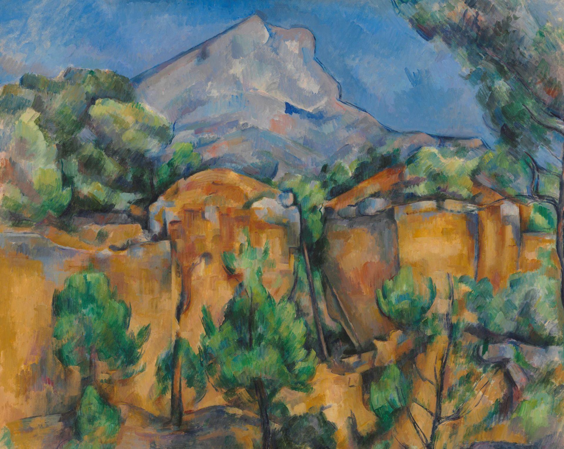 Cézanne, Montagne Sainte-Victoire Seen From Bibémus (1895-1900) Baltimore Museum of Art