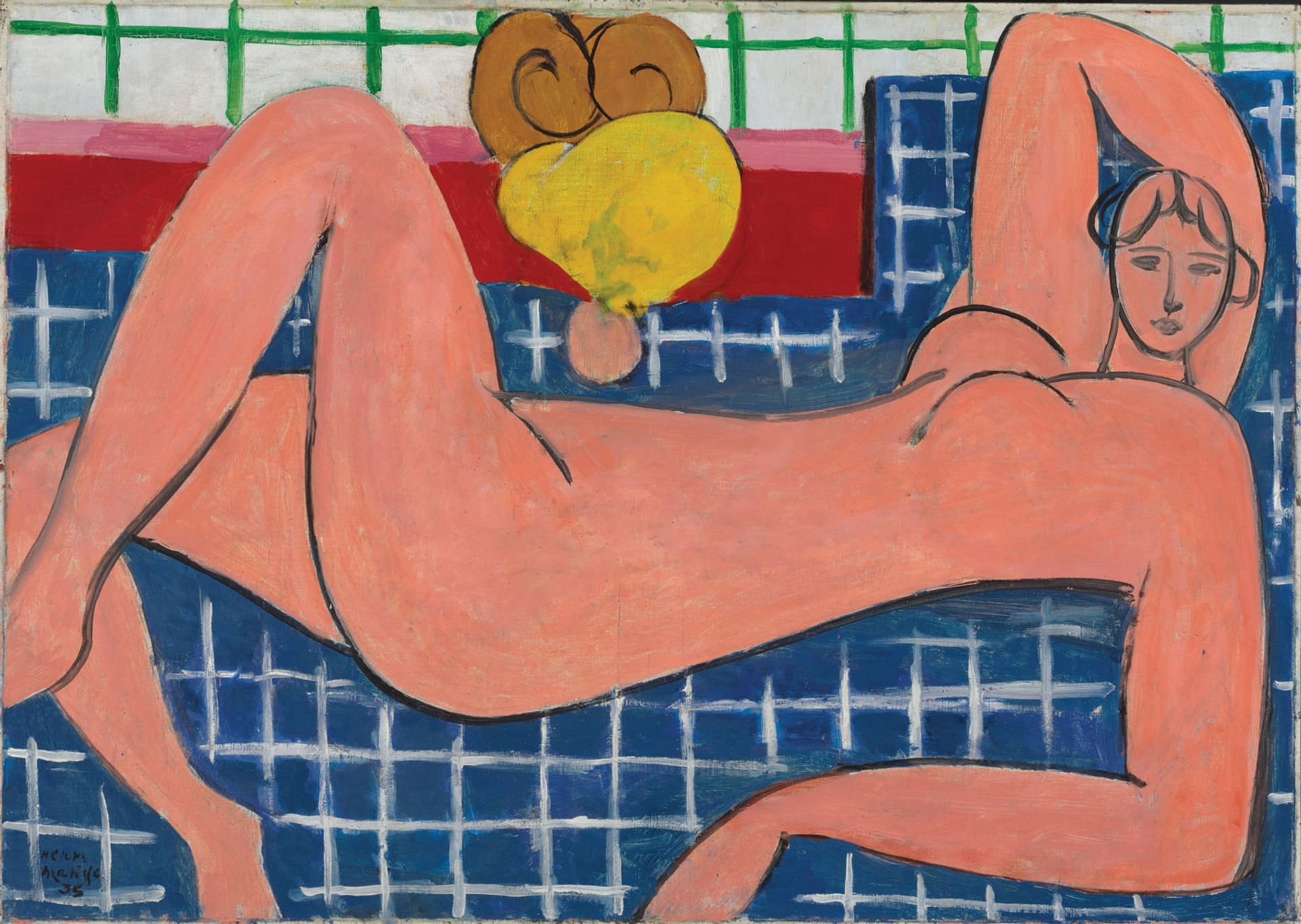 Henri Matisse's Large Reclining Nude (1935) © Succession H. Matisse, Paris/Artists Rights Society (ARS) New York