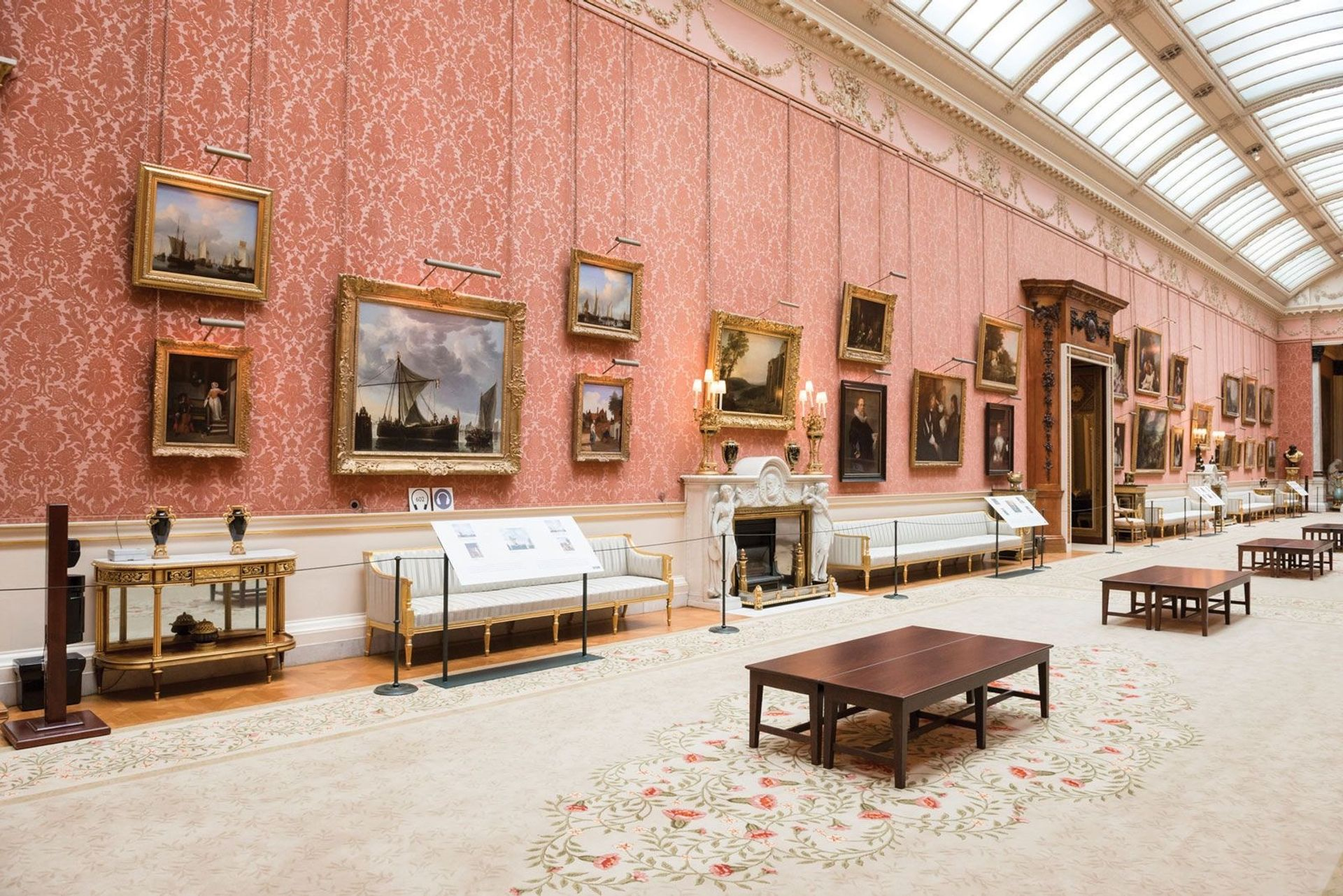 The Picture Gallery at Buckingham Palace (currently closed for renovation work) © Her Majesty Queen Elizabeth II 2020
